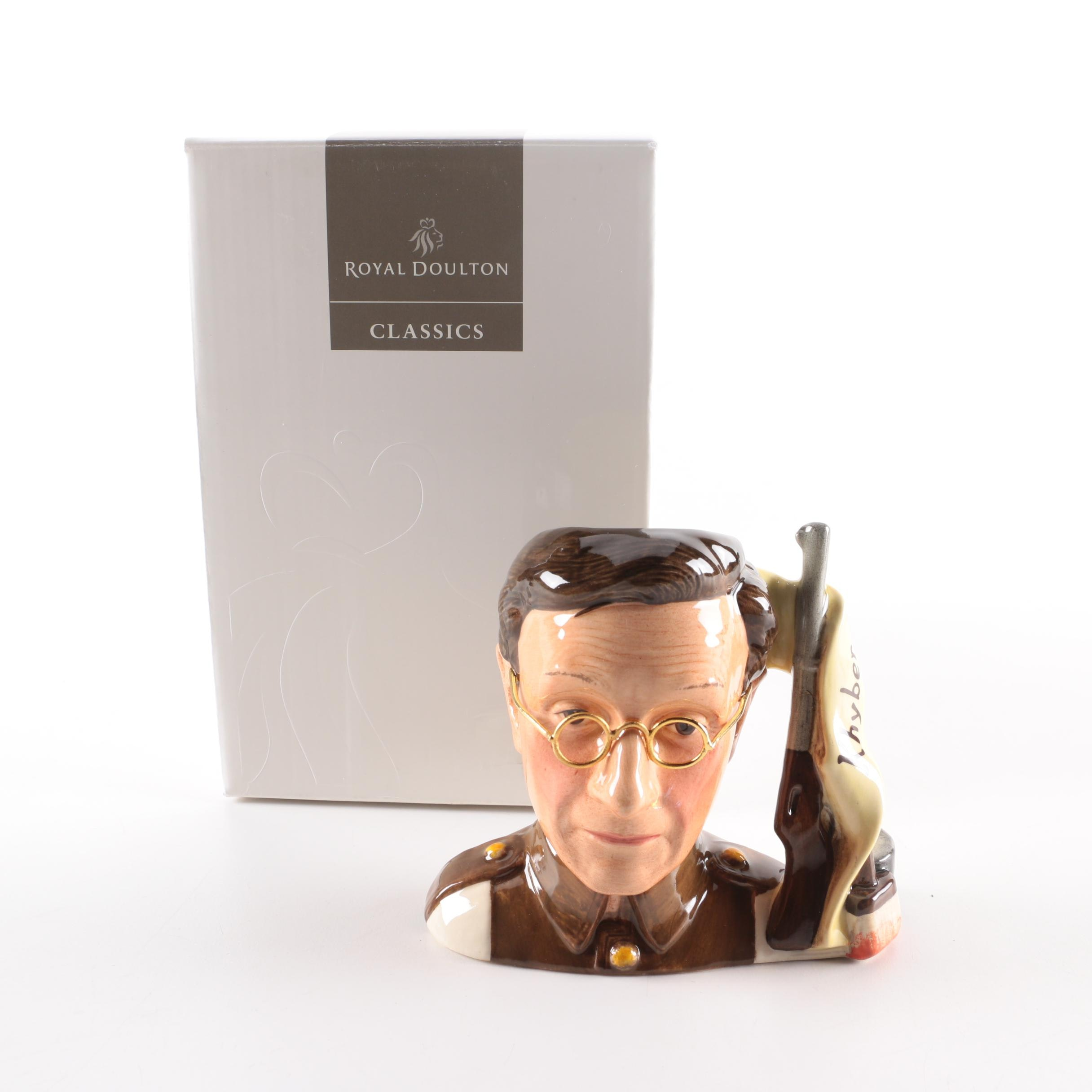 "2000 Royal Doulton ""Private James Widdle"" Character Jug"