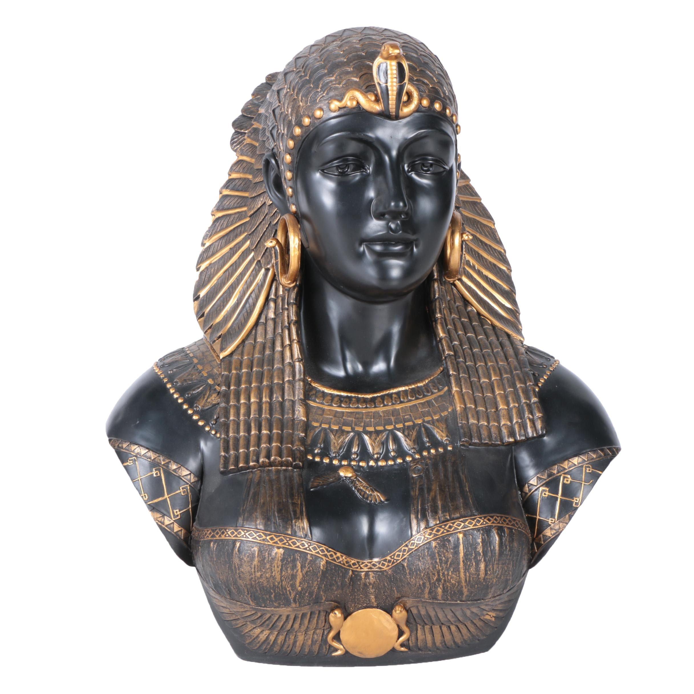 Veronese Cleopatra Bust Sculpture