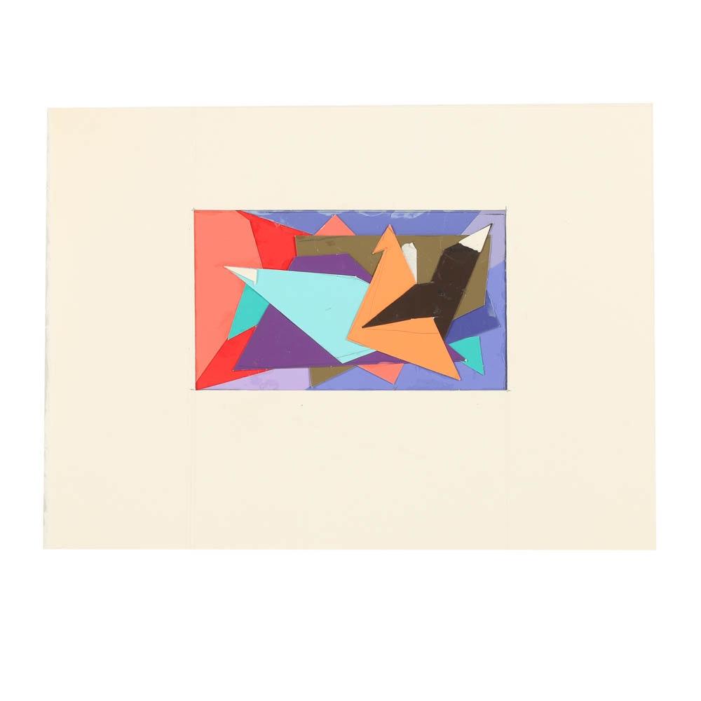 Ricardo Morin Color-Aid Collage Sketch