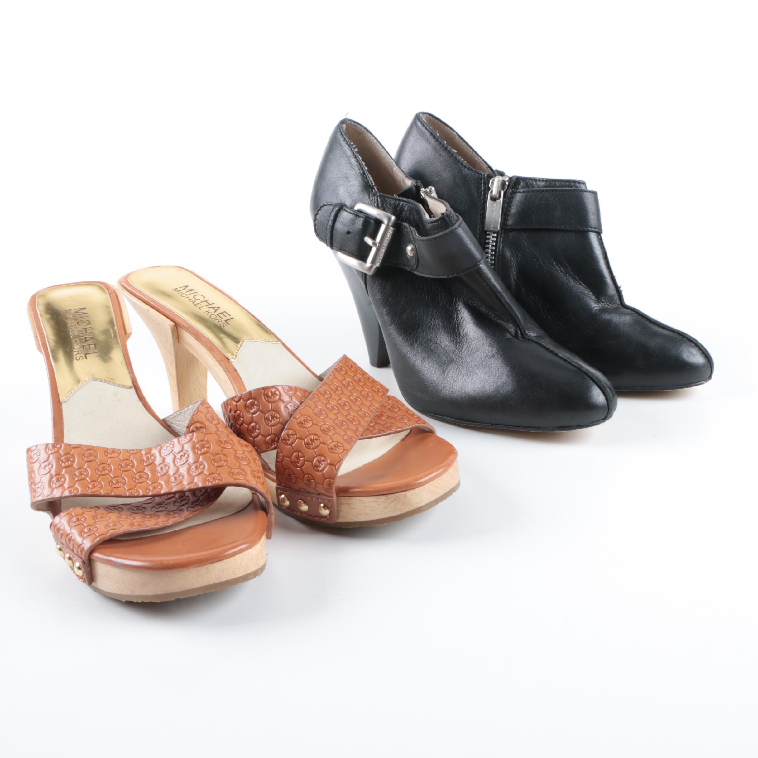MICHAEL Michael Kors High Heel Sandals and Booties