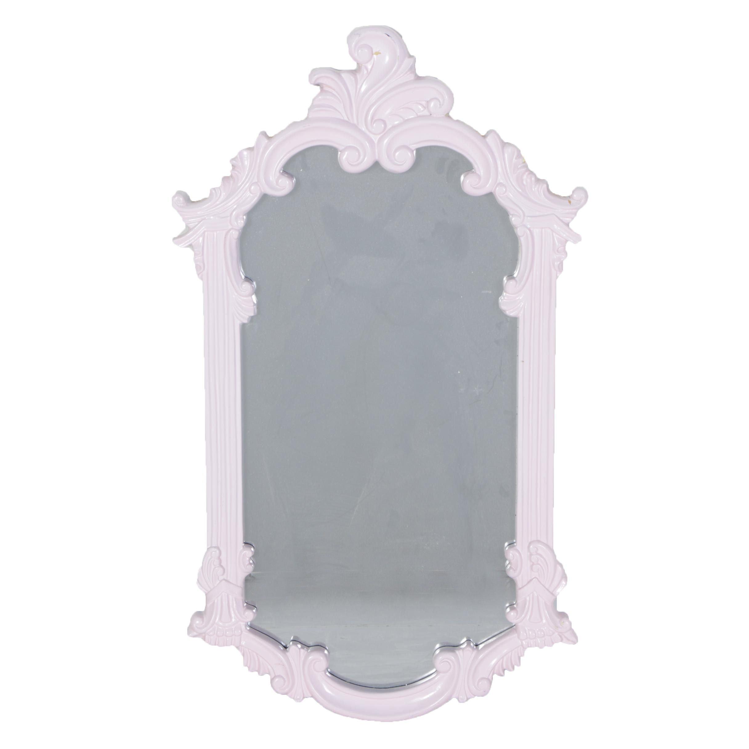 Decorative Wood Framed Wall Mirror