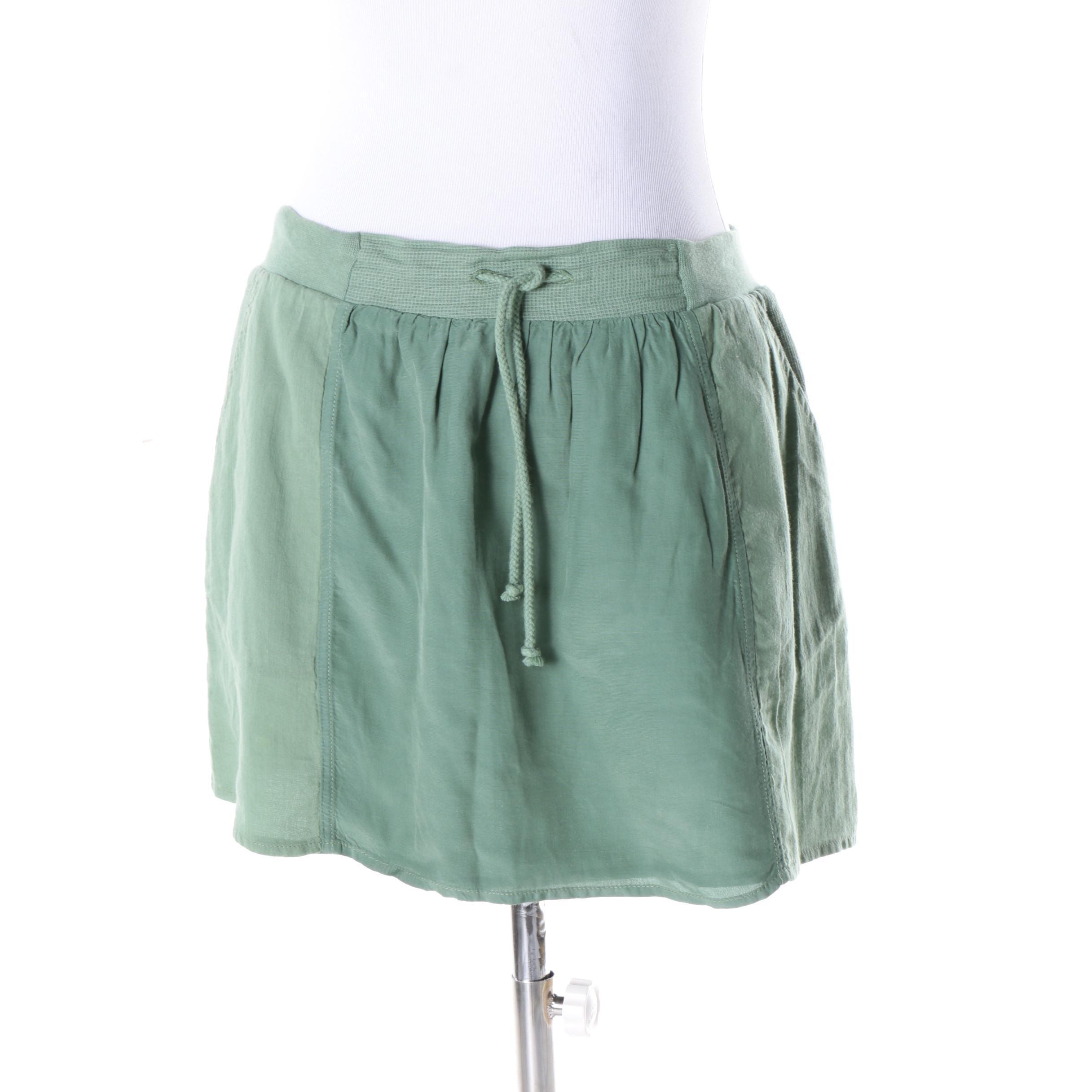 Women's Vanessa Bruno Green Skirt