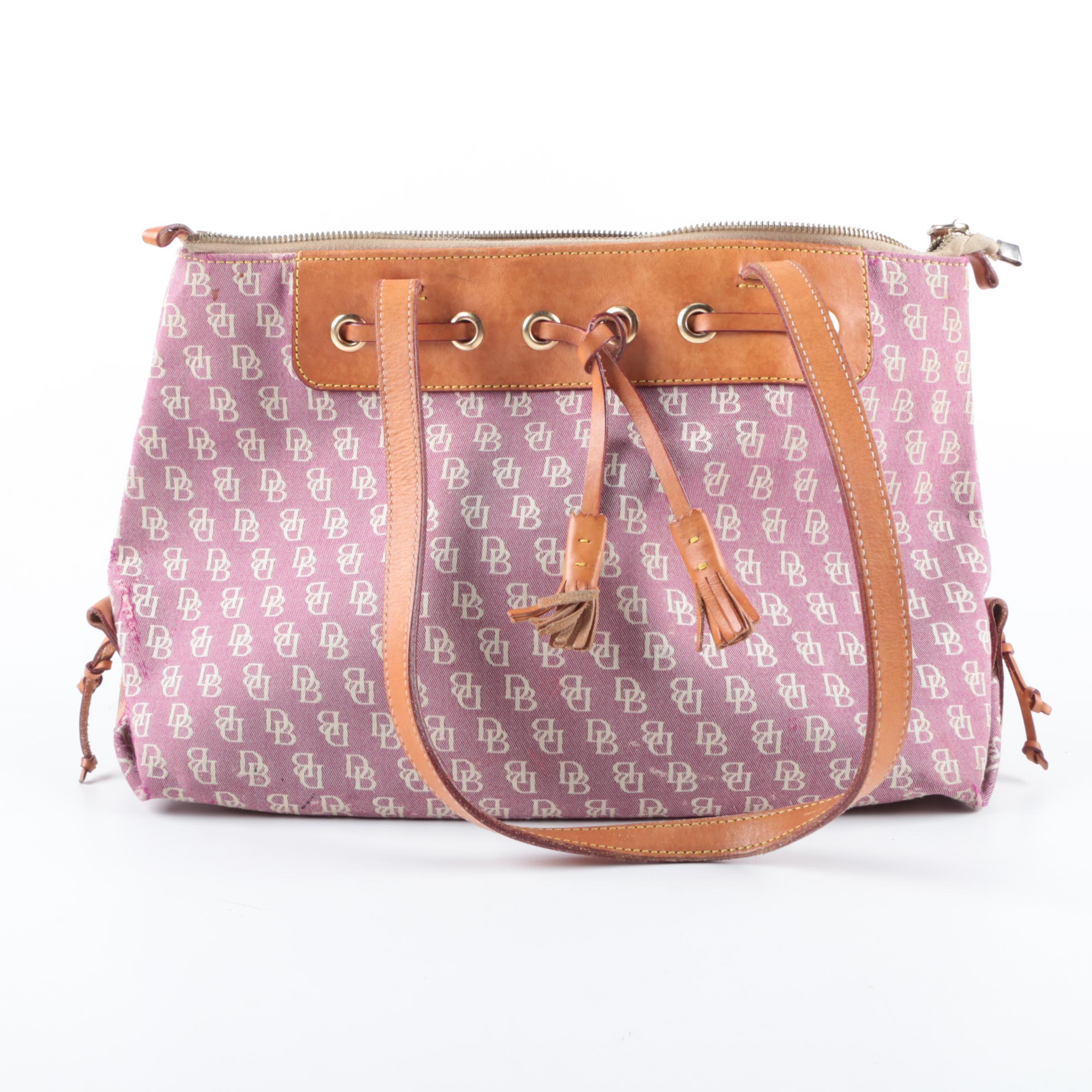Dooney & Bourke Signature Shoulder Bag