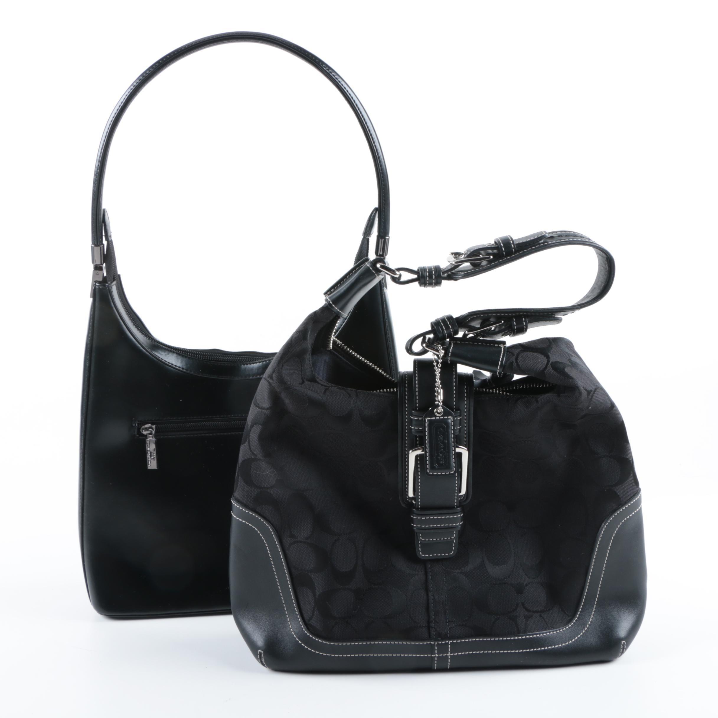 Coach Signature Handbag and Daniela Moda Handbag