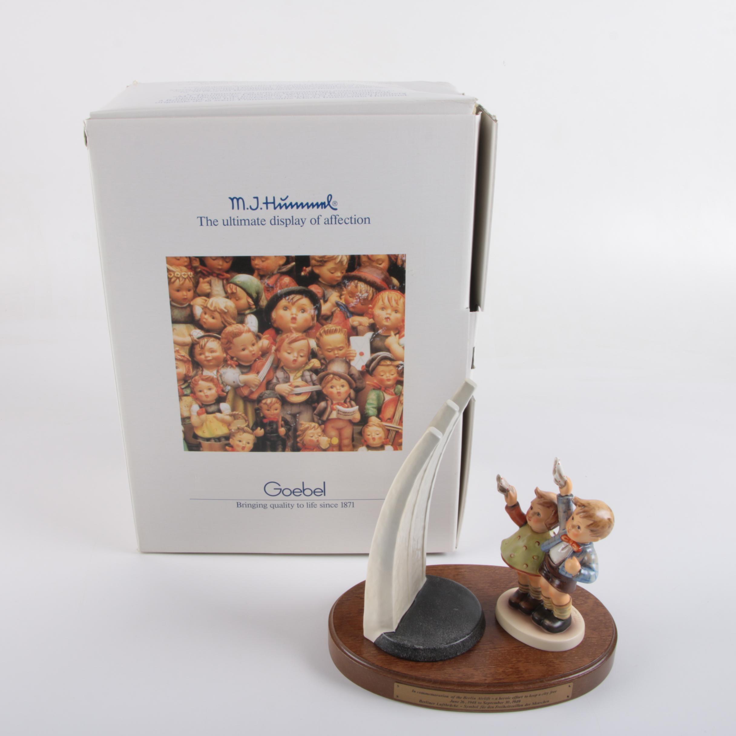 "M.I. Hummel Limited Edition ""Berlin Airlift Memorial"" Commemorative Figurine"