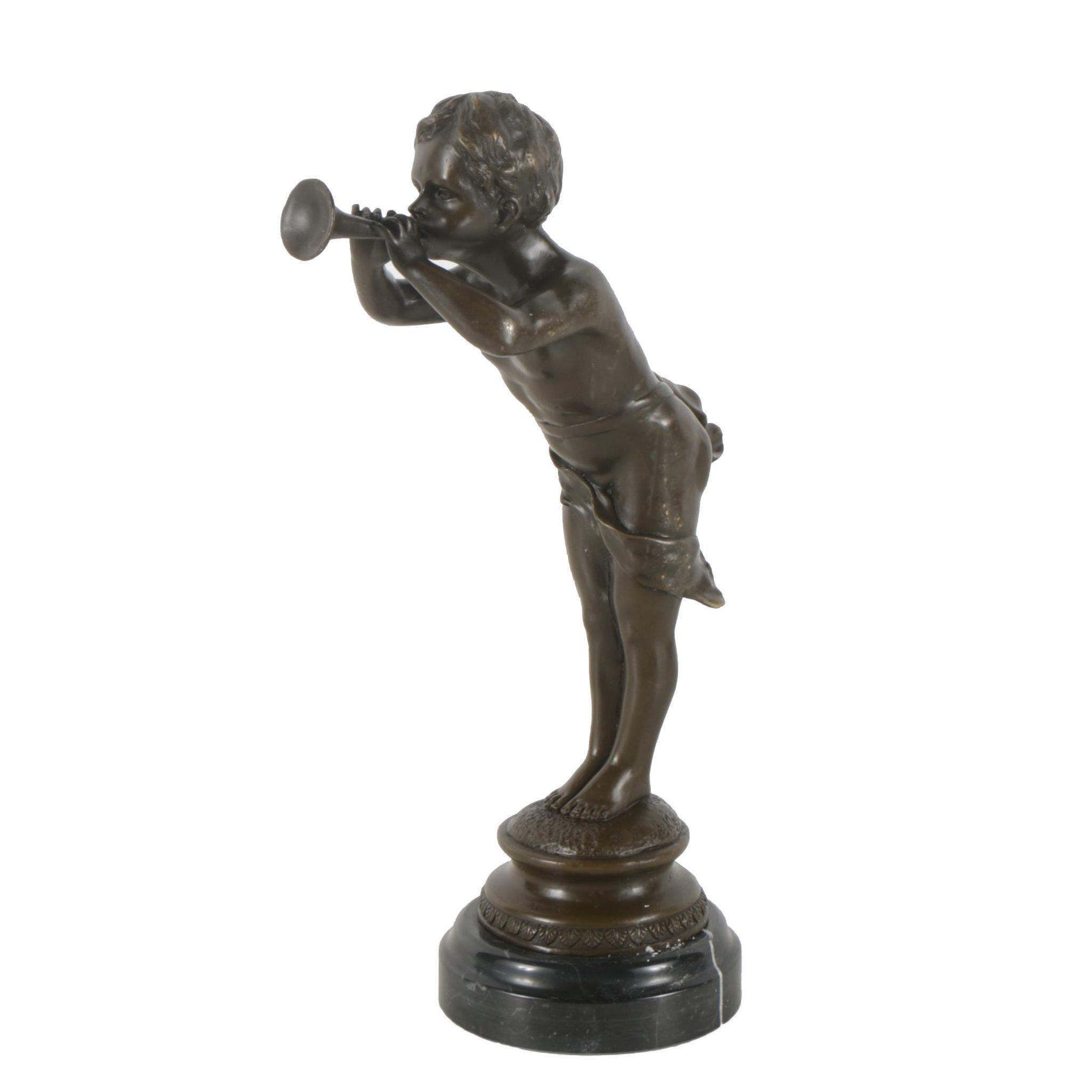 Brass Sculpture after Louis Kley