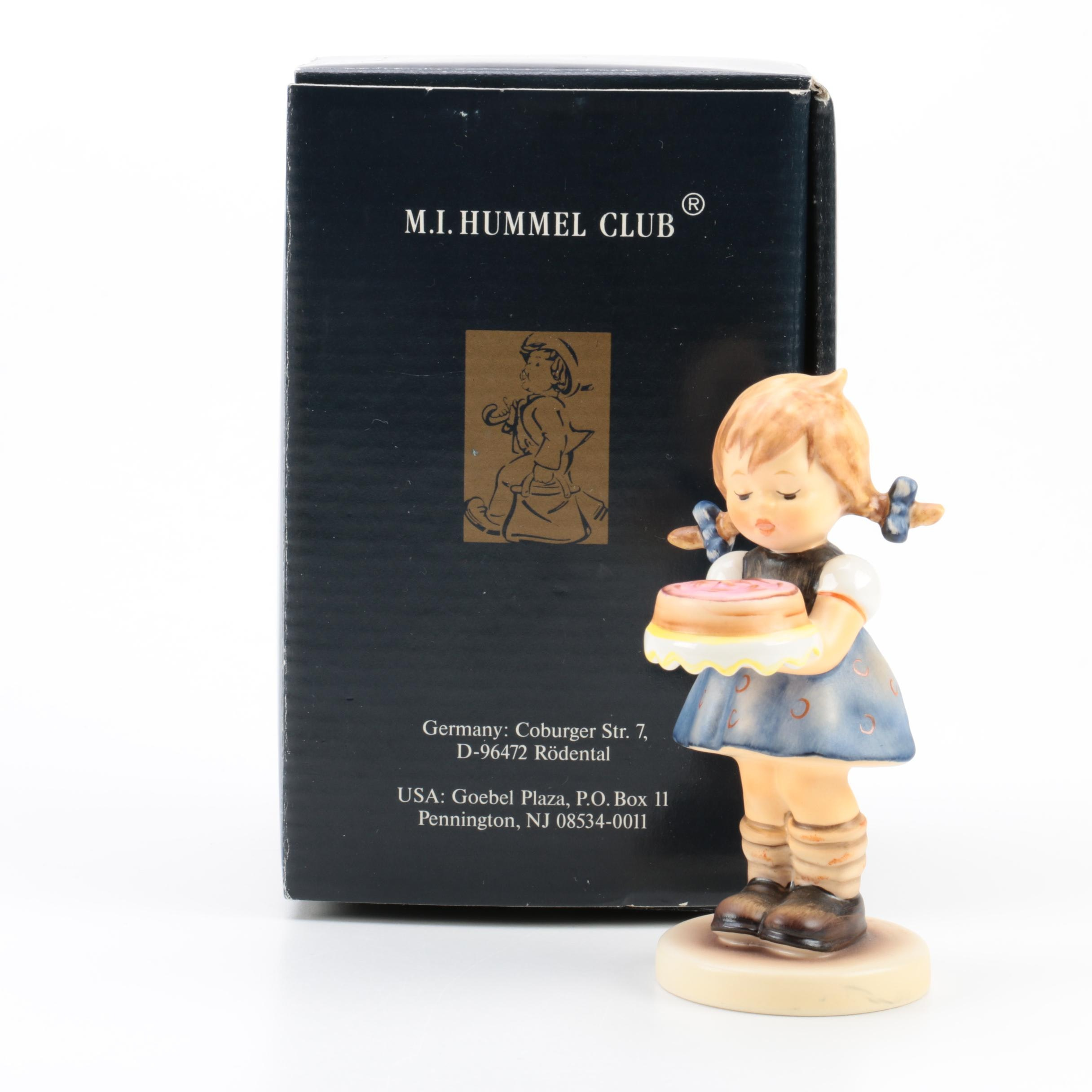 "Hummel Club ""Sweet As Can Be"" Figurine"