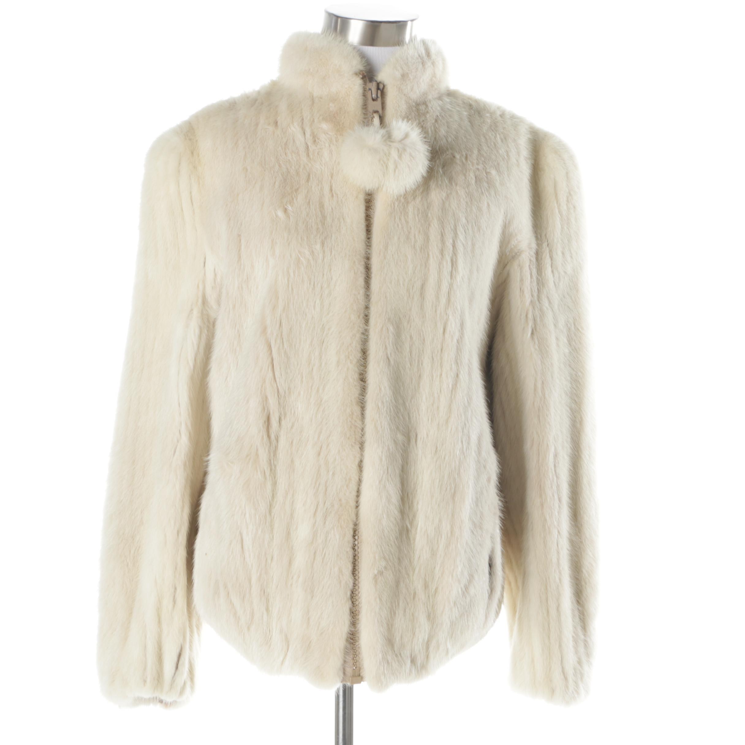 Women's Vintage Yudofsky Furriers Mink Fur Jacket