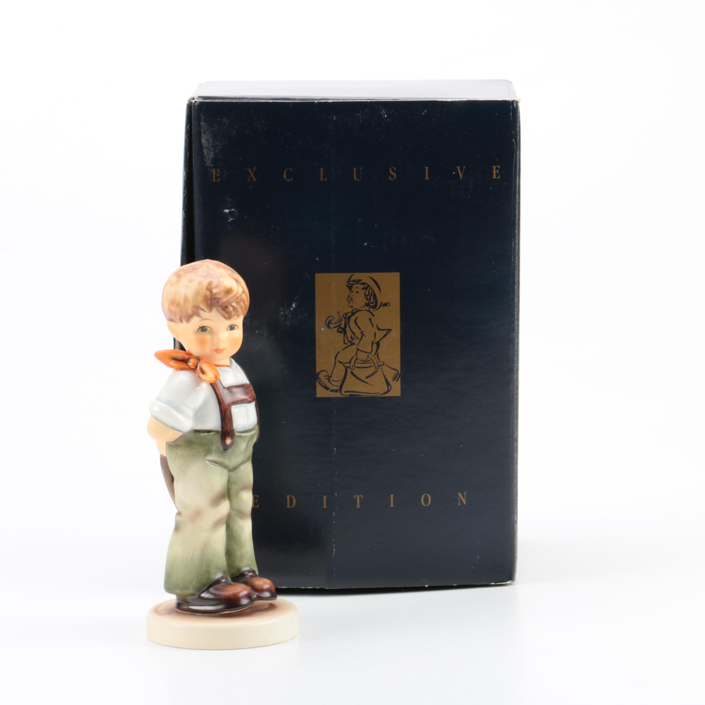 """Exclusive Edition Hummel """"I Didnt' Do It"""" Figurine"""