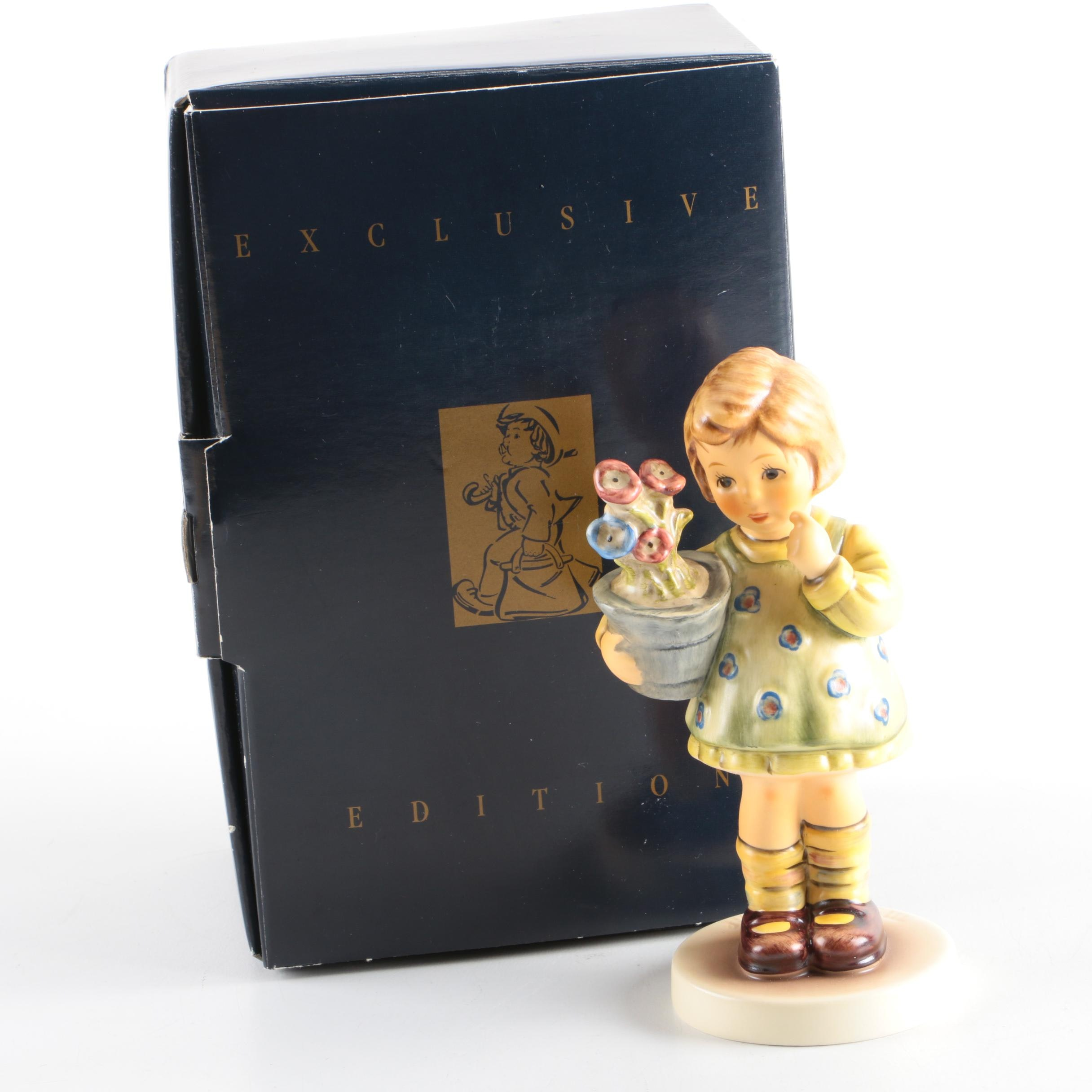 "M.I. Hummel Club ""My Wish is Small"" Porcelain Figurine"