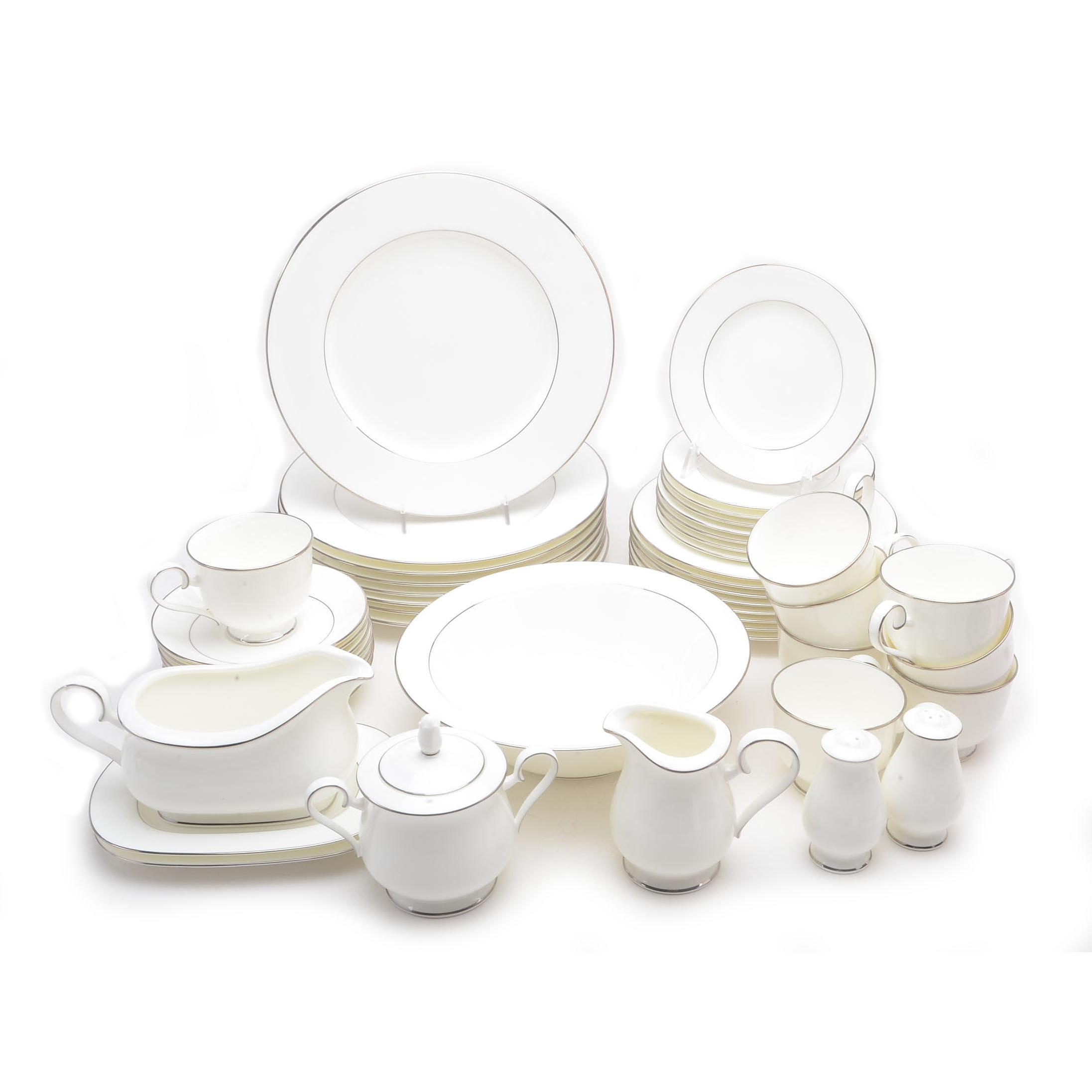 "Noritake ""Purity White"" Tableware"