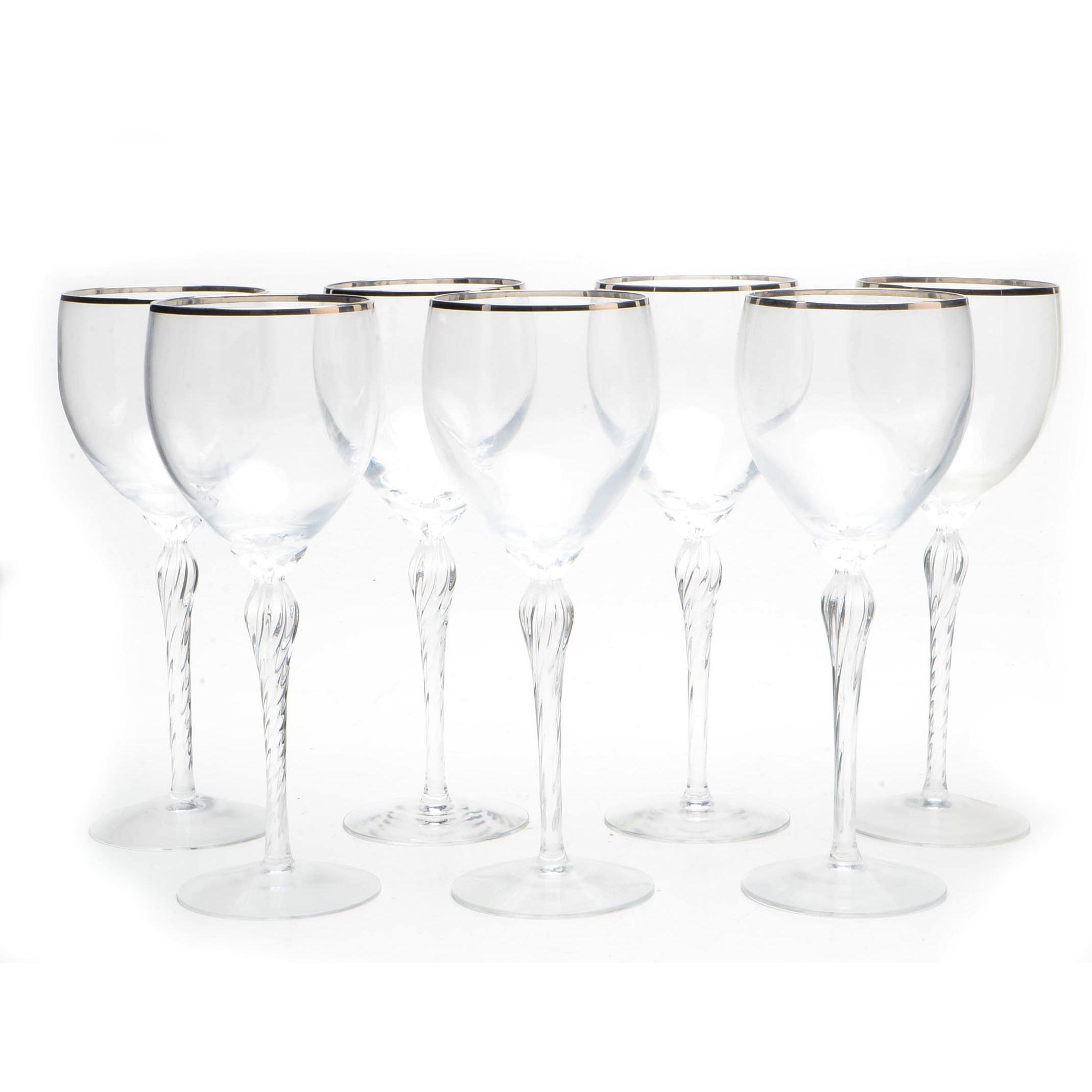 "Lenox ""Madison"" Wine Glasses"