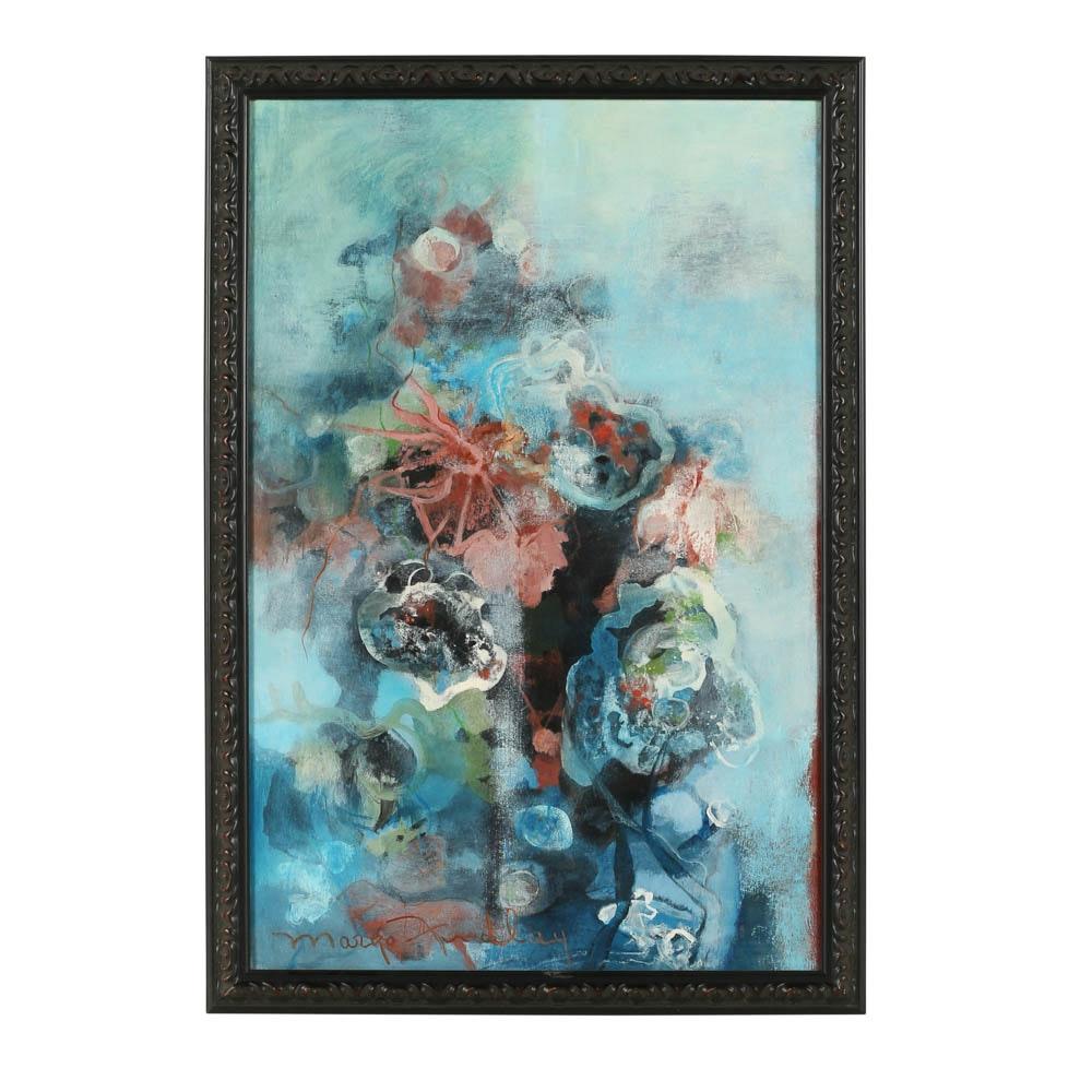 Margo Findlay Mixed Media Painting