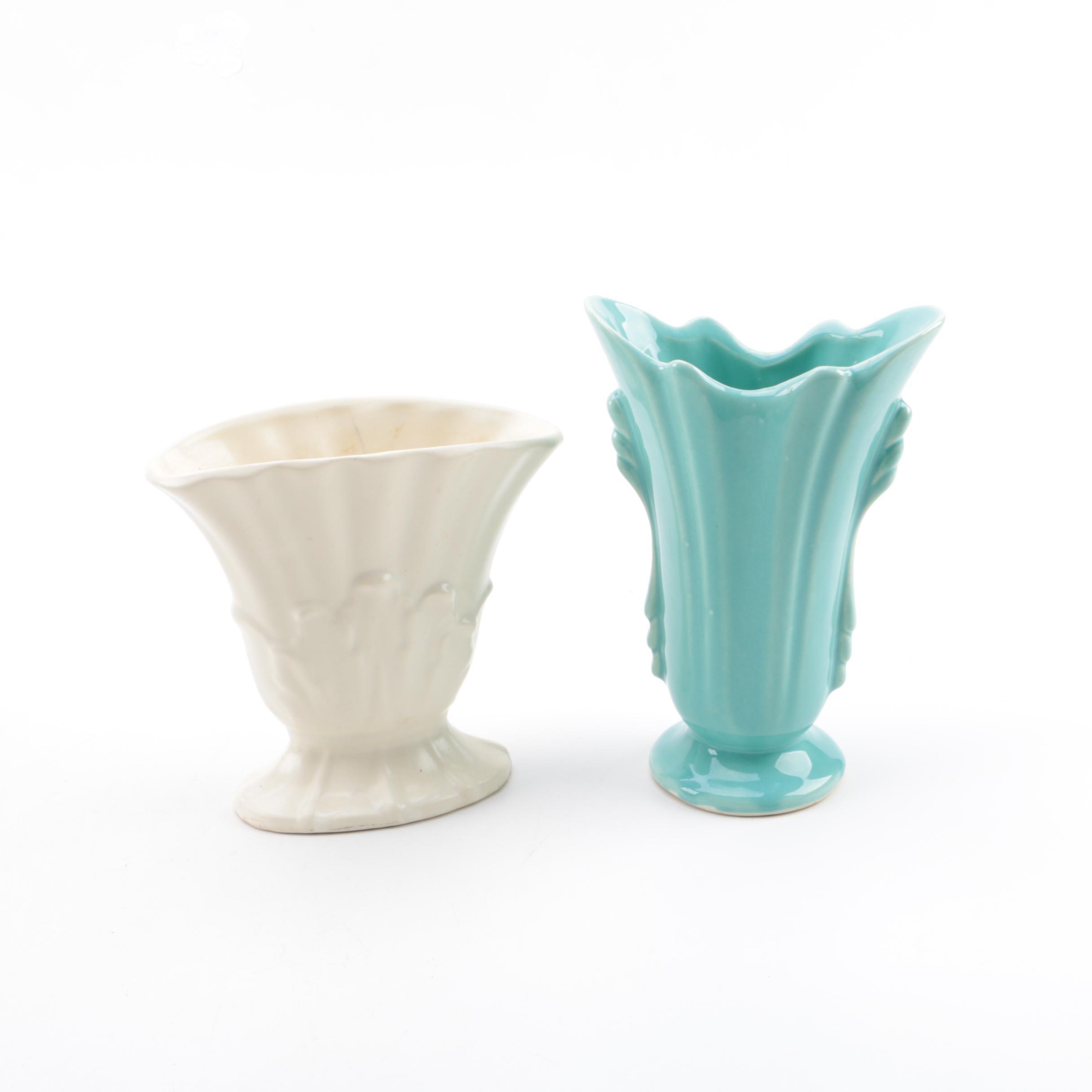 Pair of Mid Century Style Vases