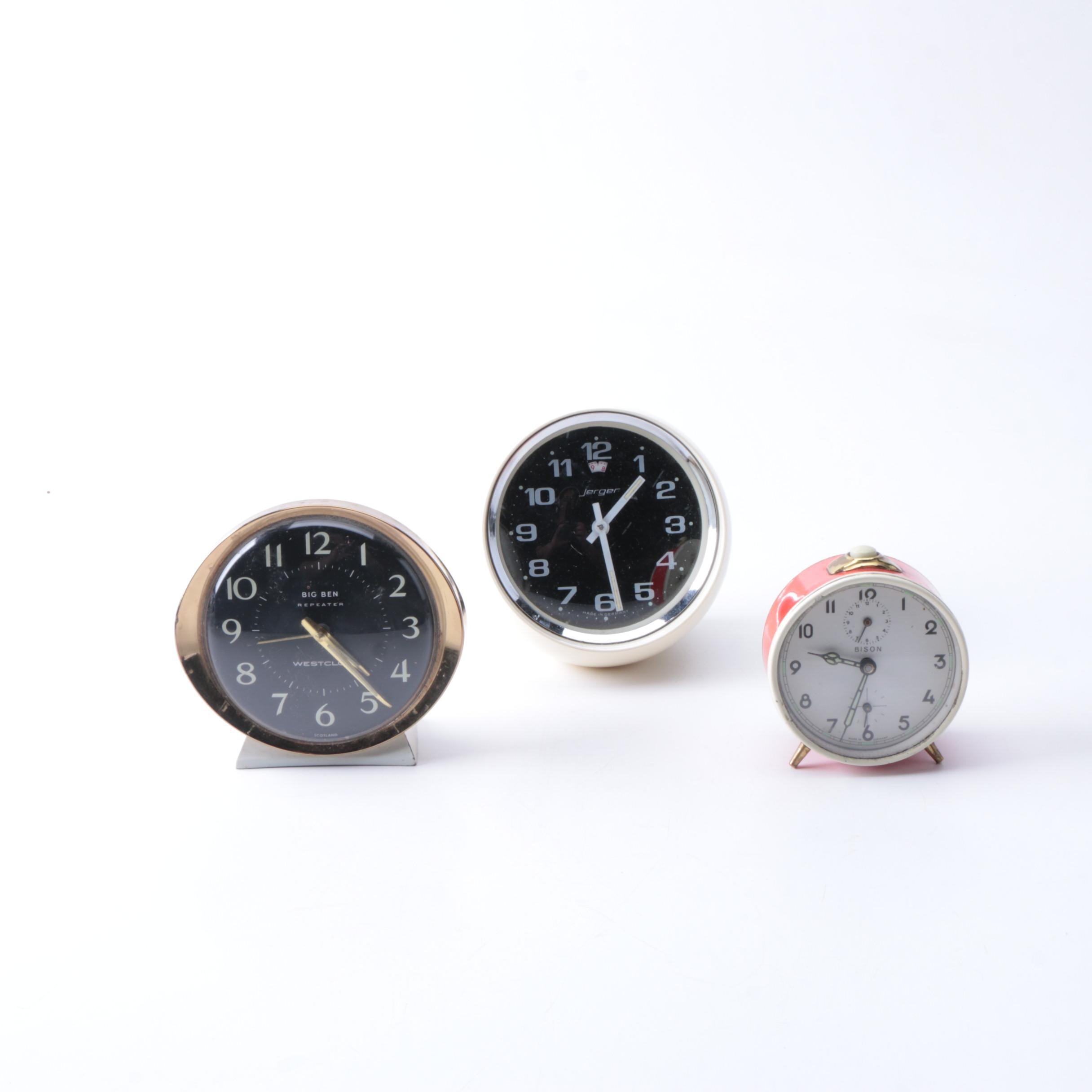Retro Style Alarm Clocks