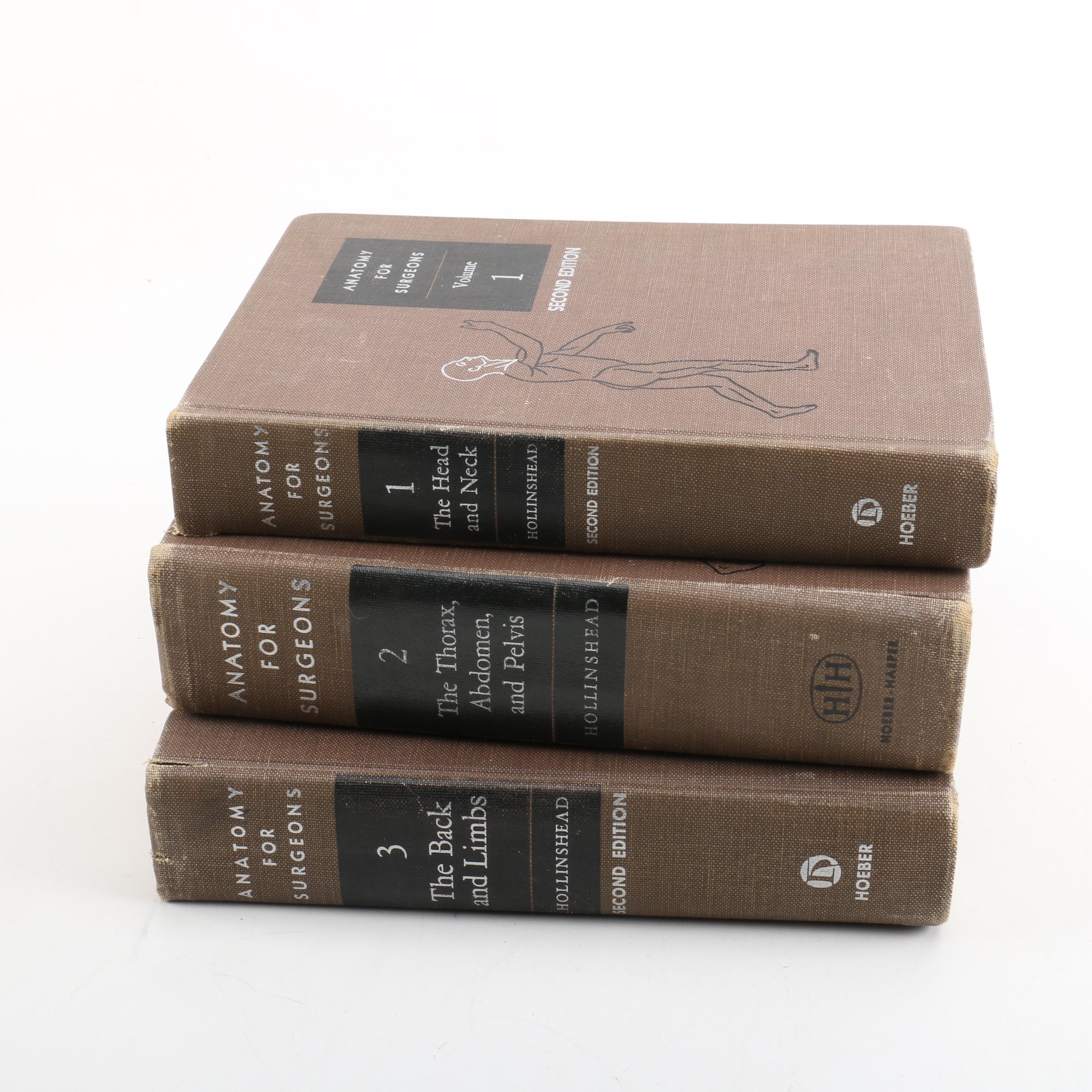 "1968 ""Anatomy for Surgeons"" in Three Volumes"