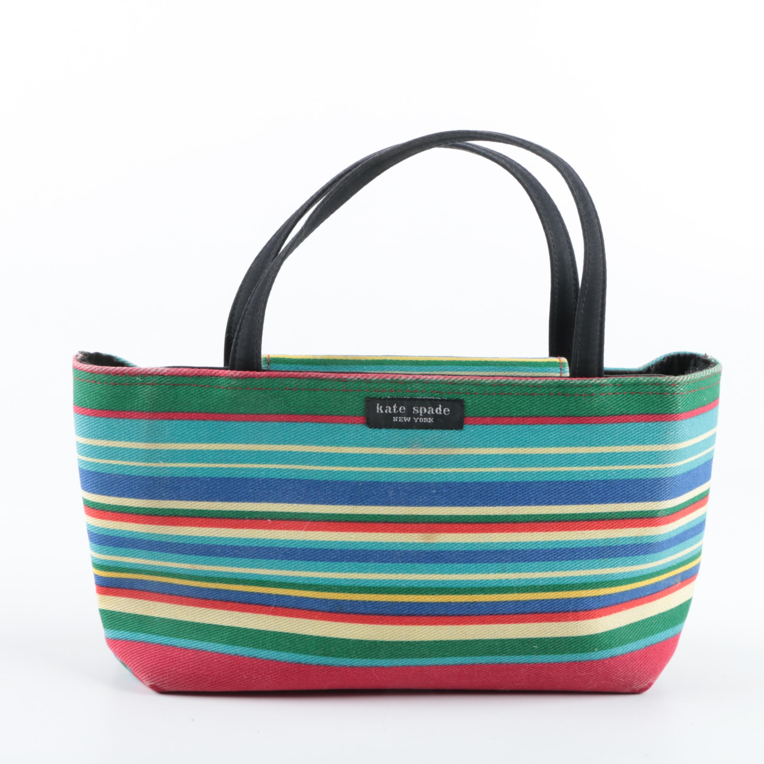 Kate Spade New York Multicolor Canvas Tote