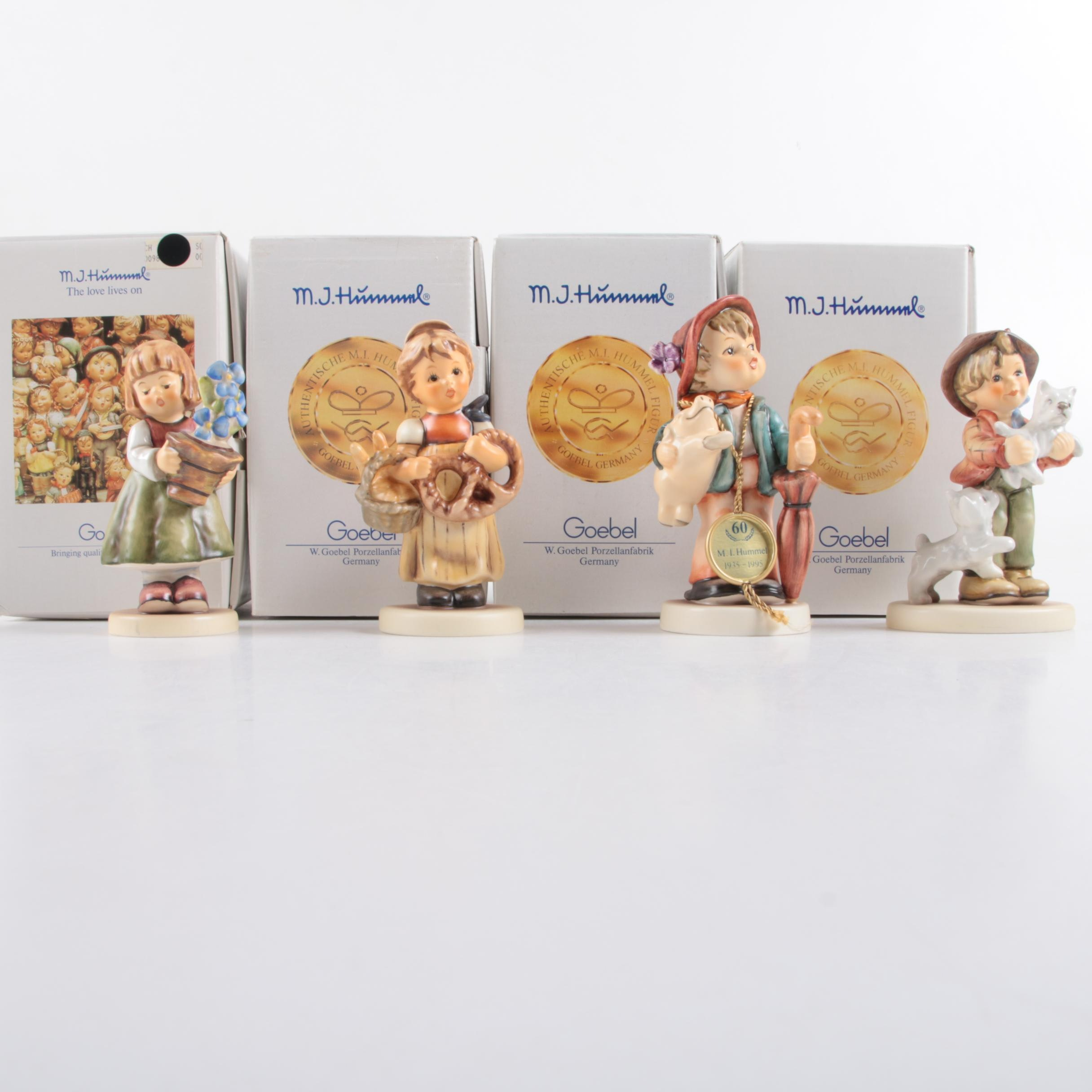 Collection of Limited Edition and First Issue M.I. Hummel Porcelain Figurines