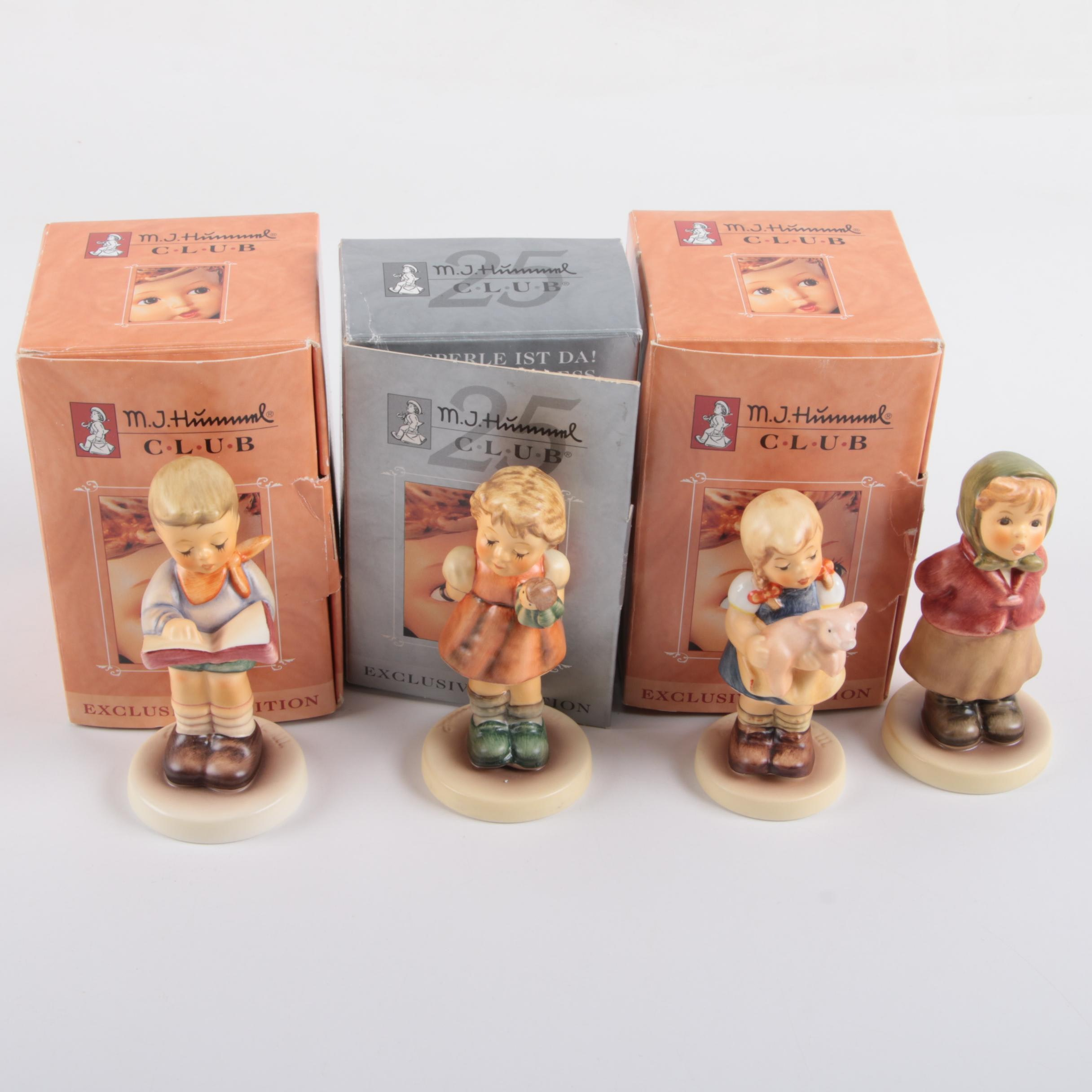 M.I. Hummel Club Membership Year 1999 - 2005 Porcelain Figurines