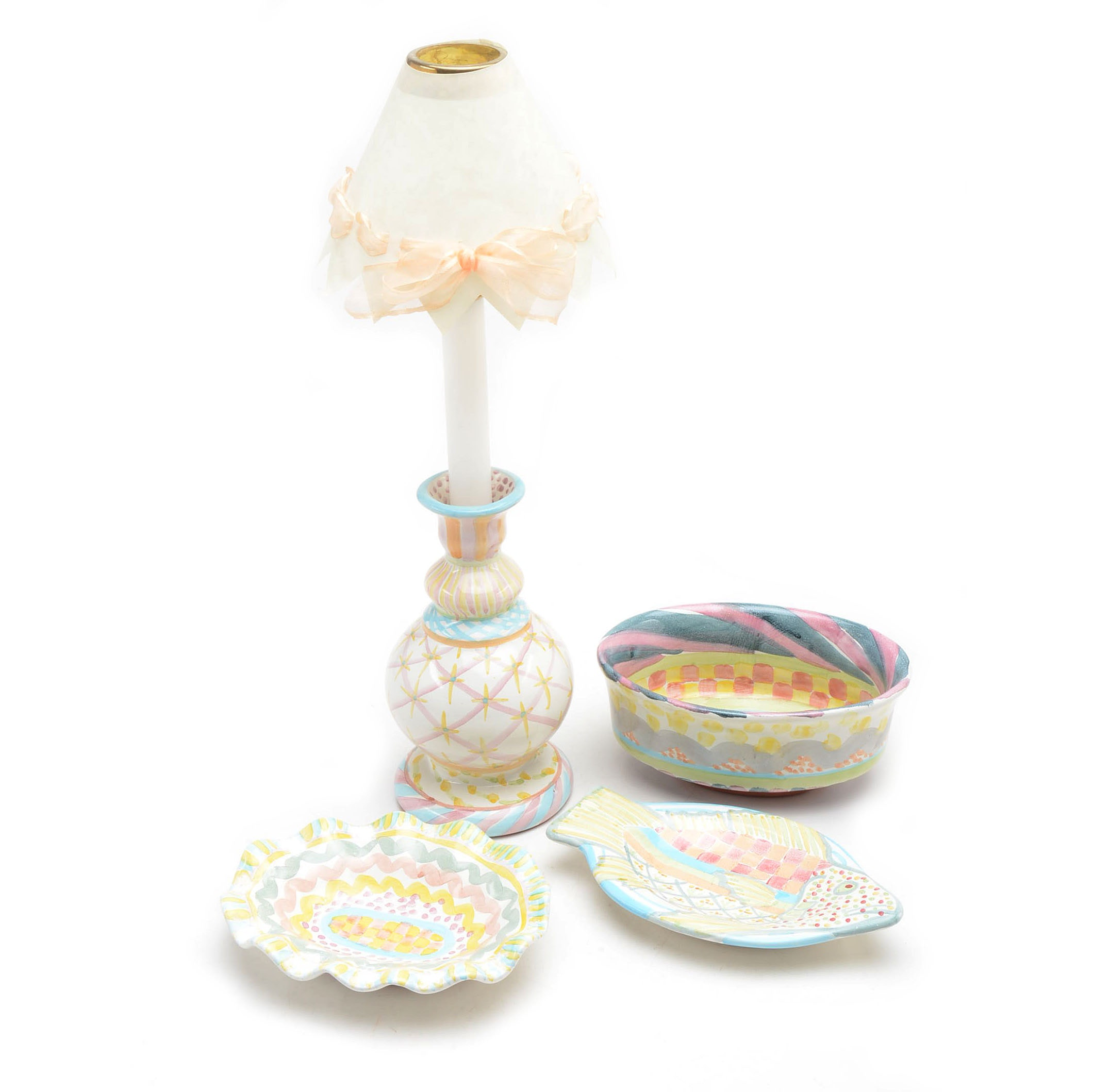 Collection of MacKenzie-Childs Decor