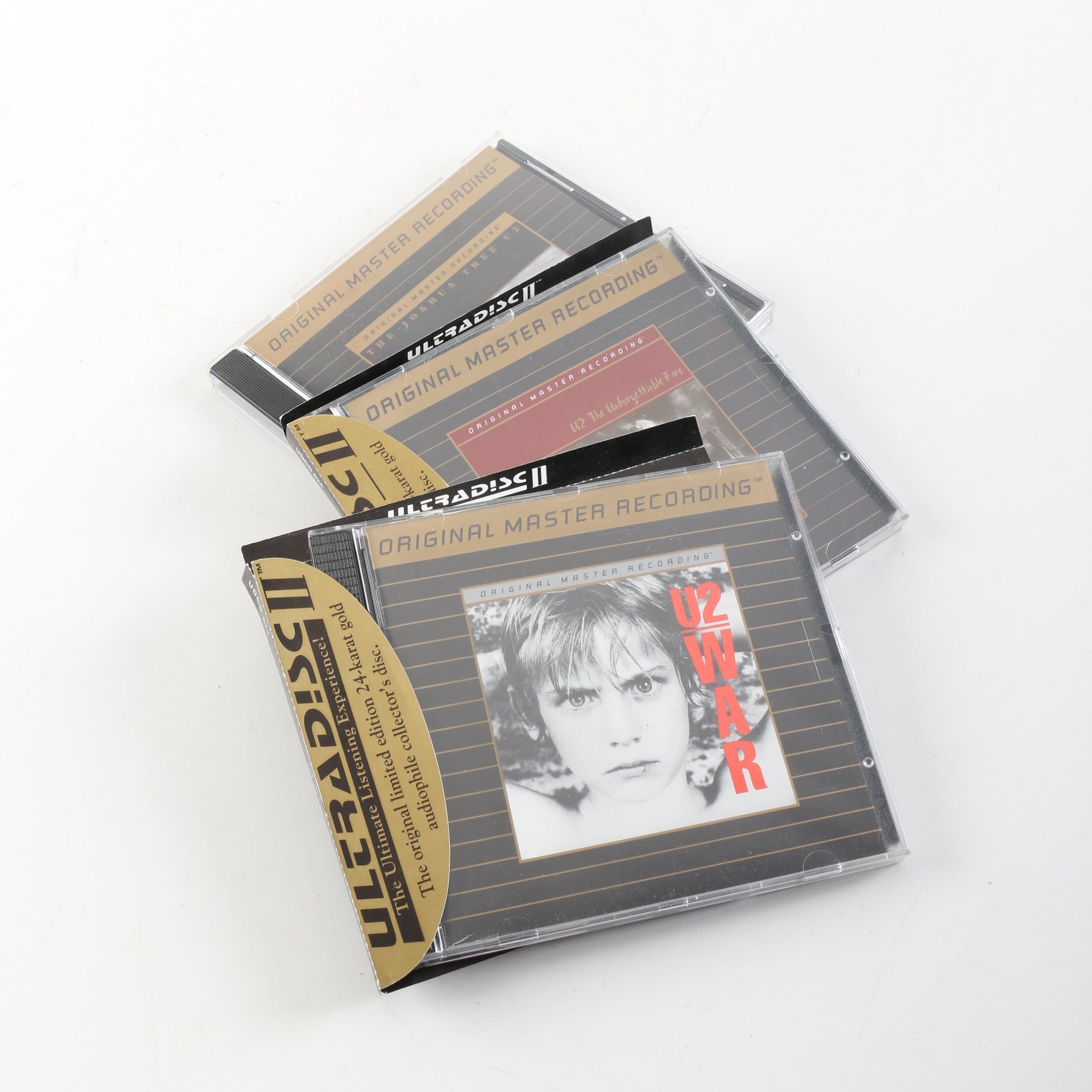 U2 Original Master Recording 24K Gold Plated Audiophile Discs