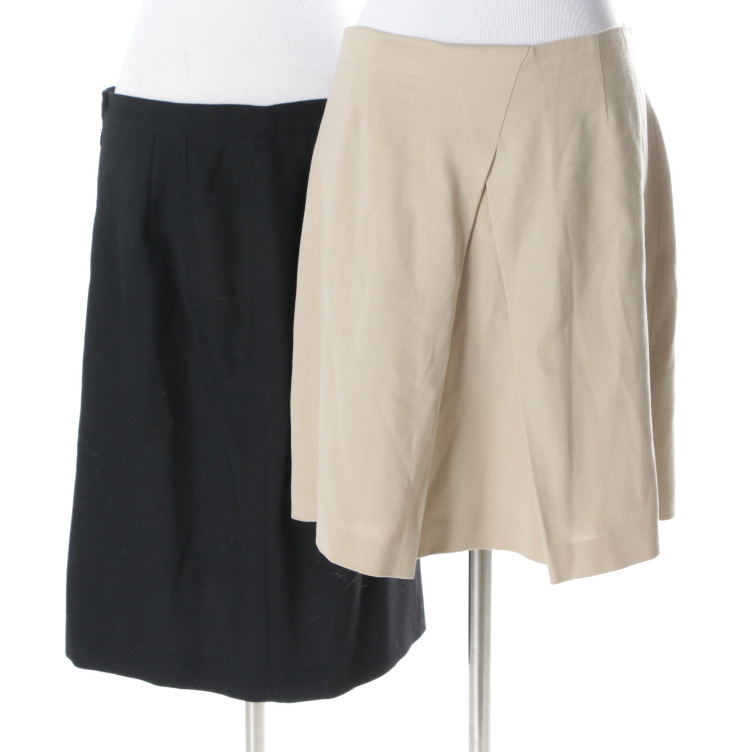 Giorgio Armani Le Collezioni and Emporio Armani Skirts