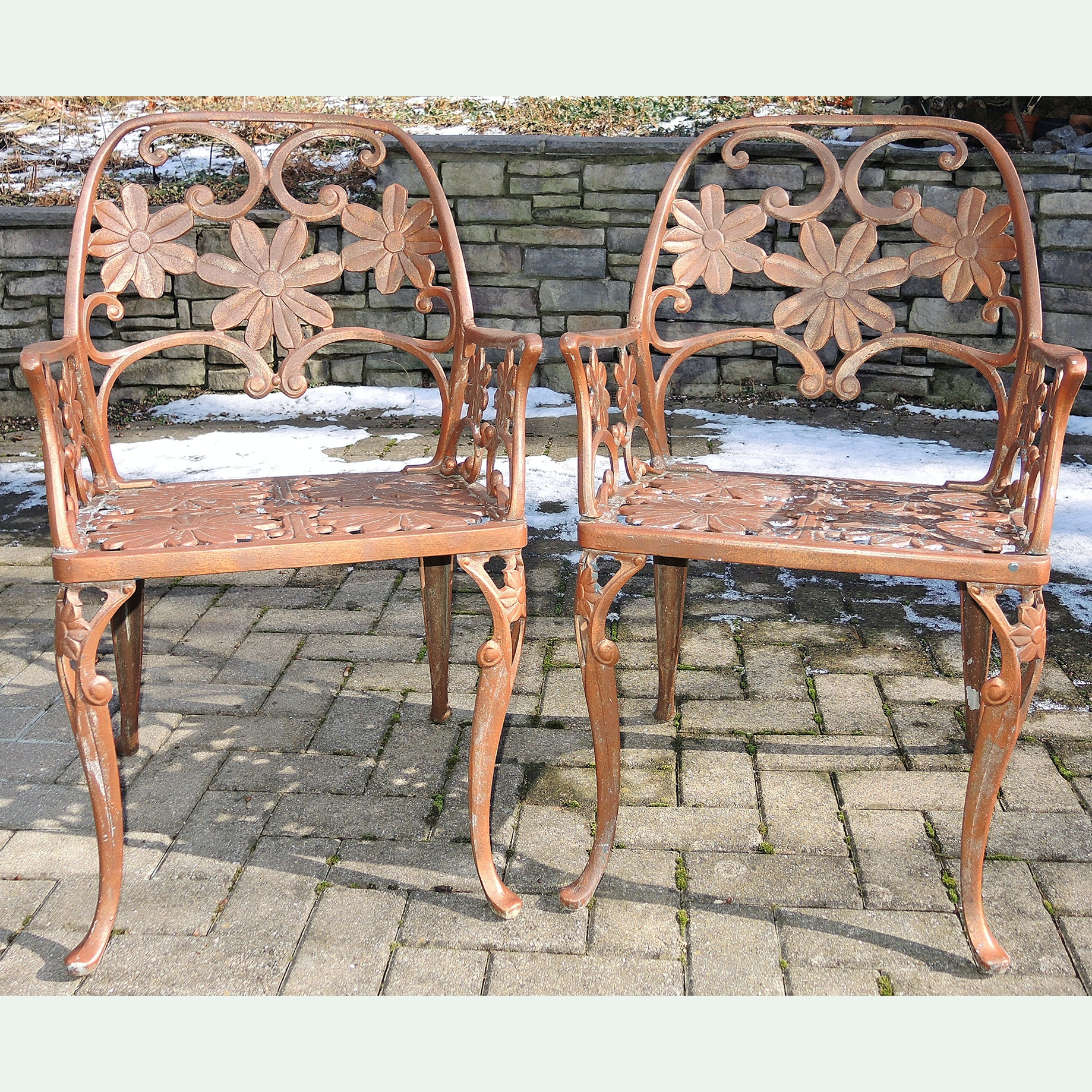 Die Cast Metal Garden Chairs