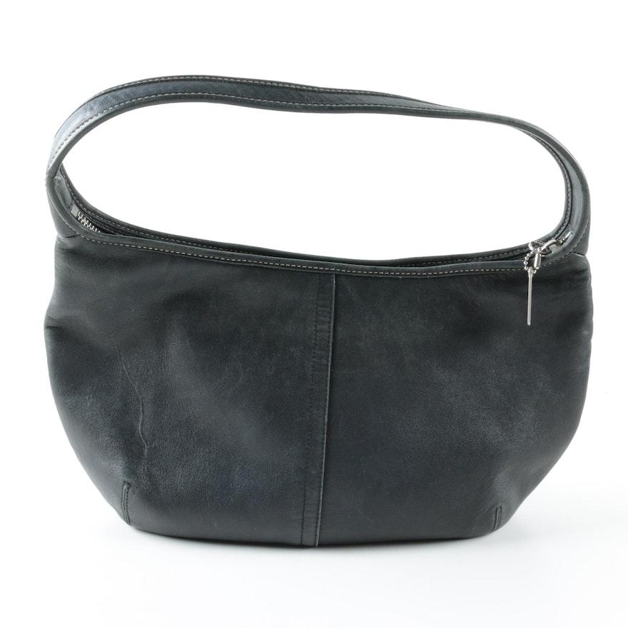 3dd1c5169e2 Coach Ergo Small Black Leather Hobo Bag   EBTH