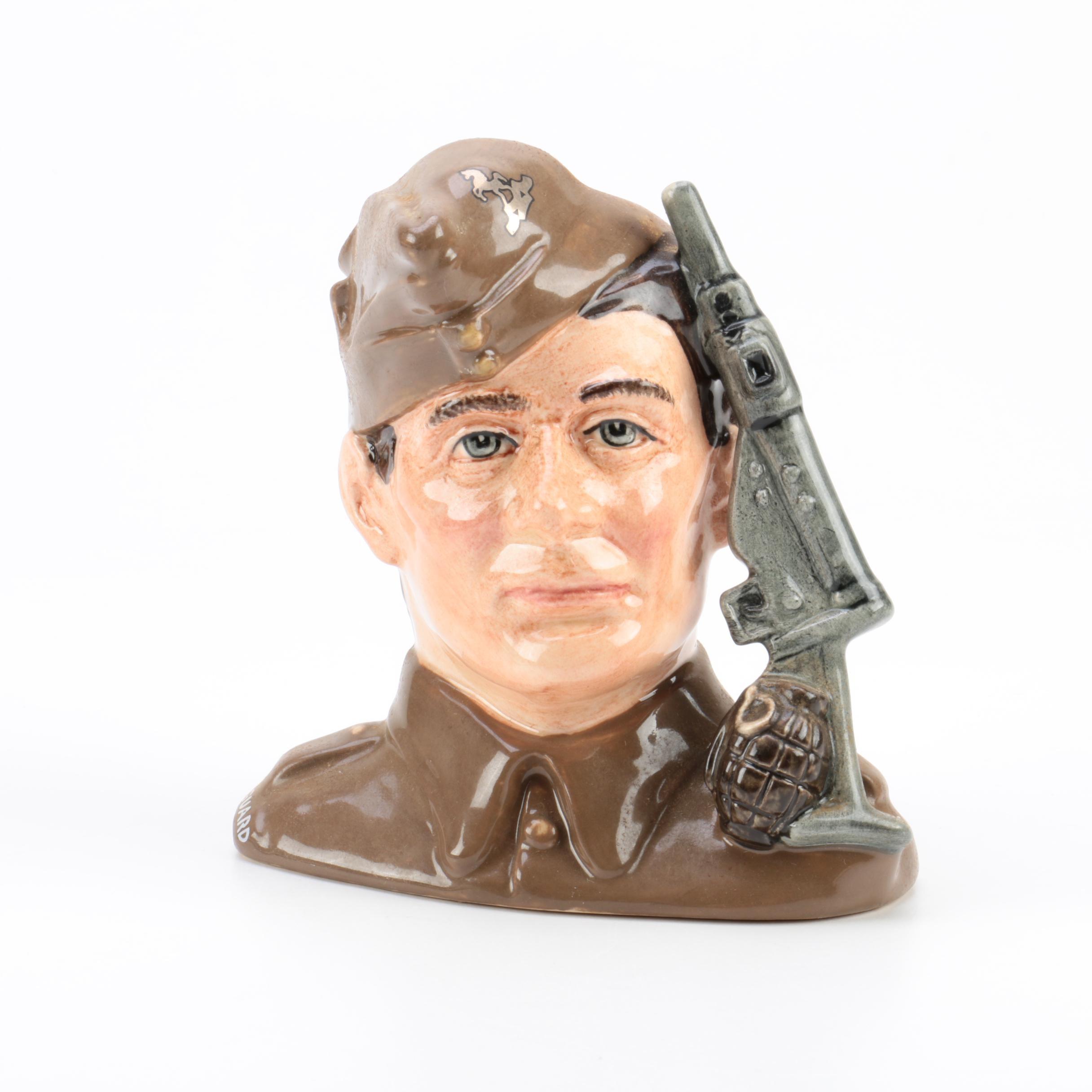 """Royal Doulton """"Home Guard"""" Character Jug"""
