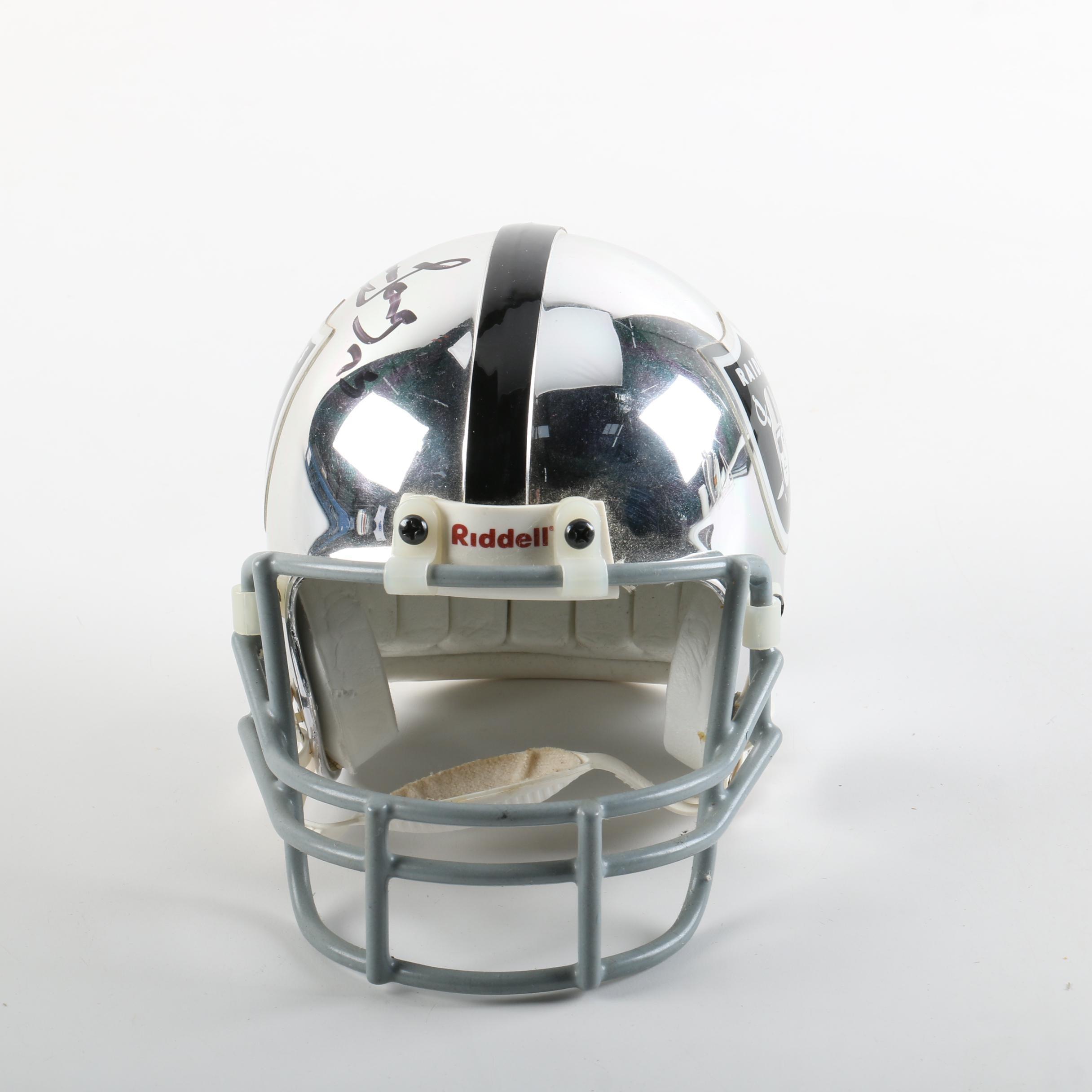 Howie Long Autographed Mini Helmet