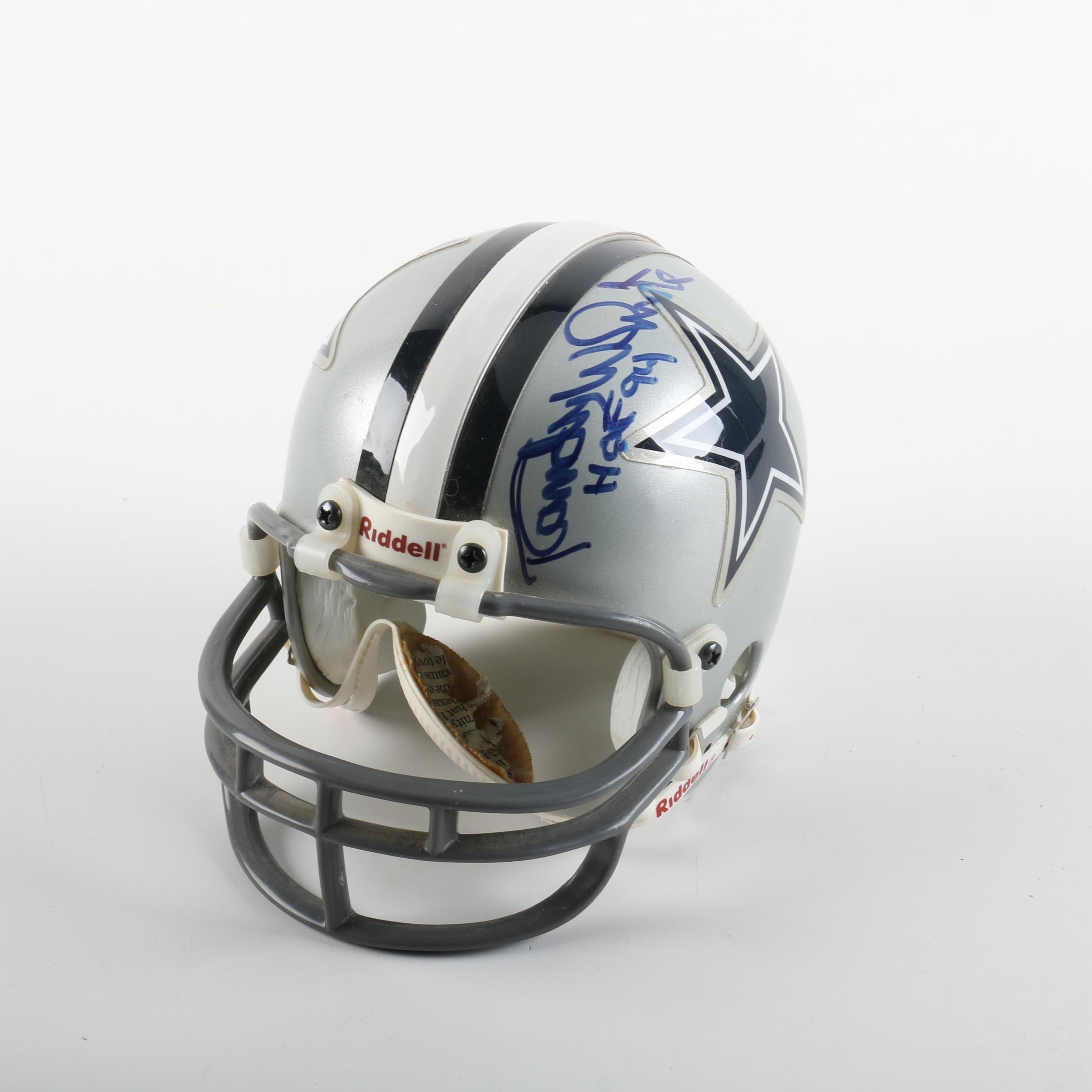Randy White Autographed Mini-Helmet