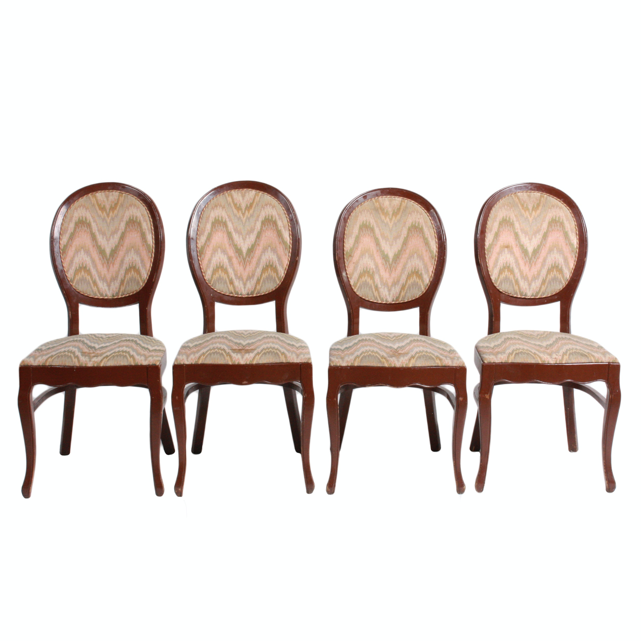 Set of French Style Dining Chairs