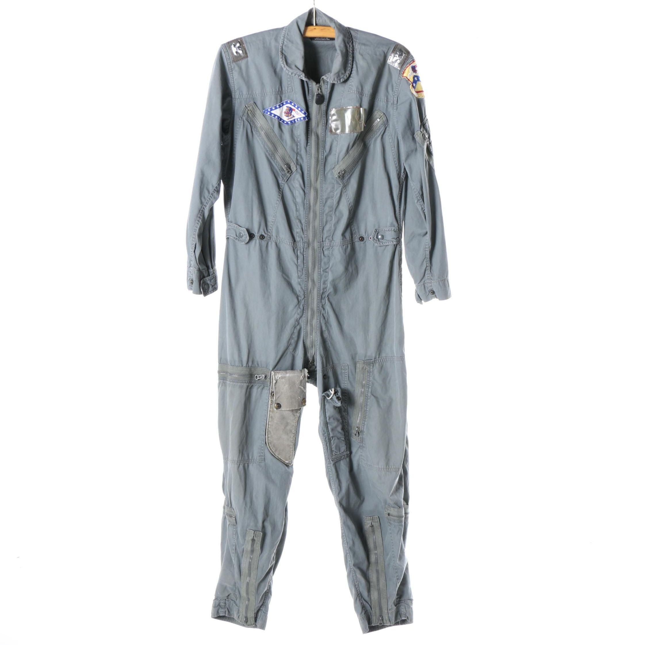 Circa 1960s Mason & Hughes, Inc. US Air Force Flight Suit