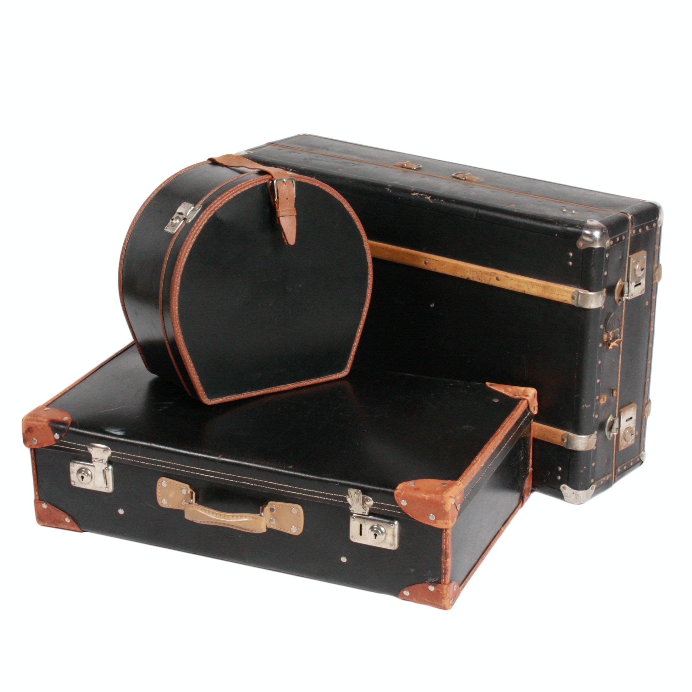 Vintage Luggage Featuring Paul U. Bergström