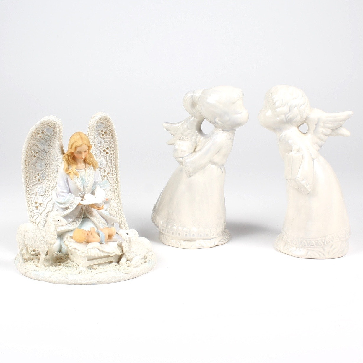 Ceramic Angel Figurines