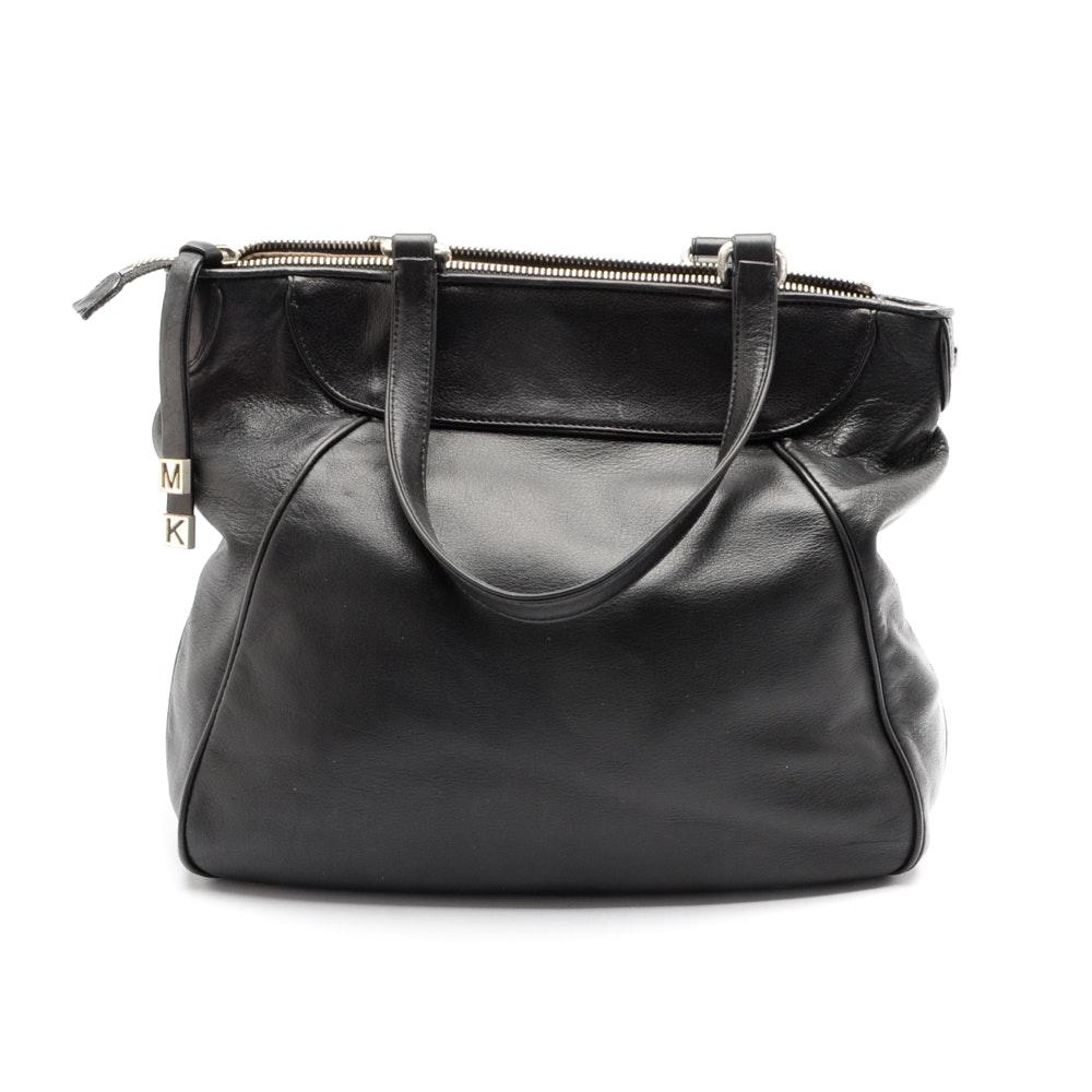MICHAEL Michael Kors Black Leather Handbag