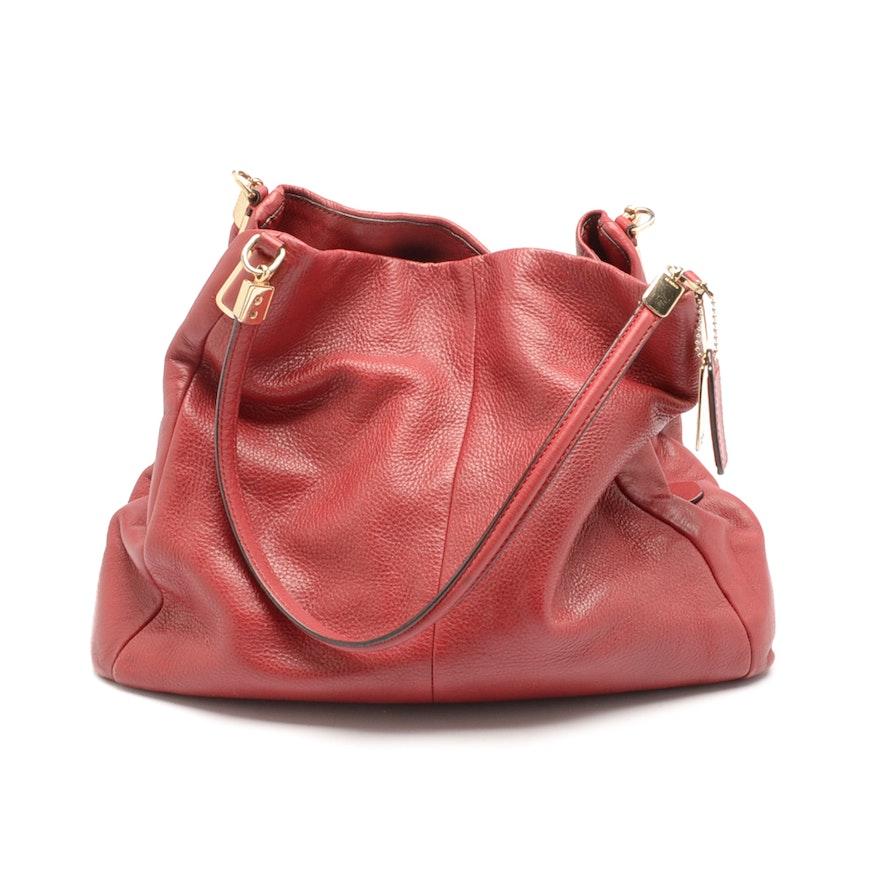 5854b67a7a96 2013 Coach Phoebe Leather Handbag   EBTH