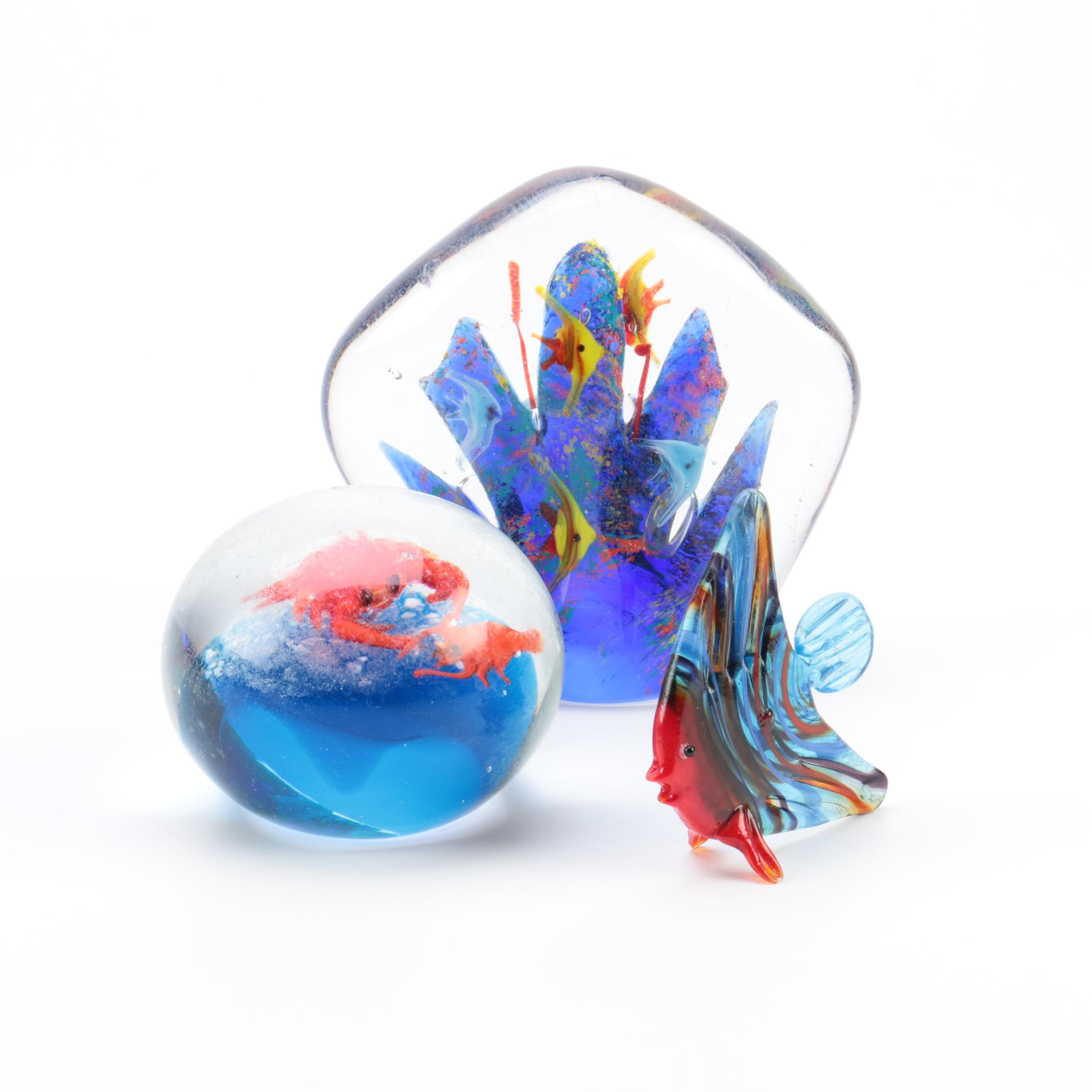 Under the Sea Themed Paperweights