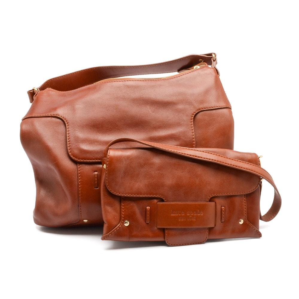Kate Spade Brown Leather Handbags