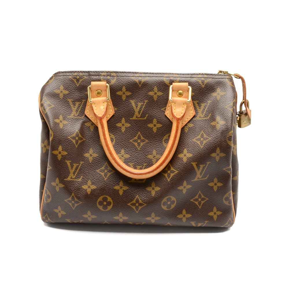 Louis Vuitton Speedy Monogram Handbag