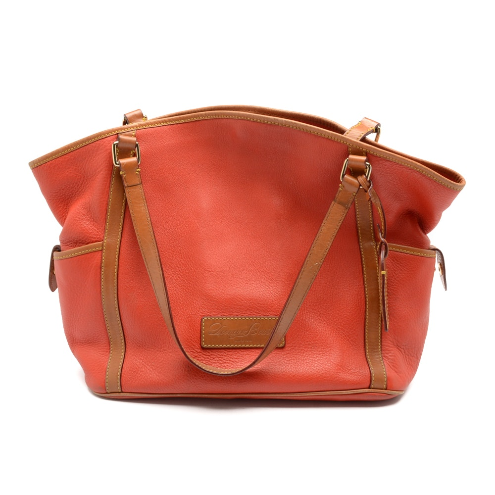 Dooney & Bourke Pebbled Leather Kristen Tote Bag