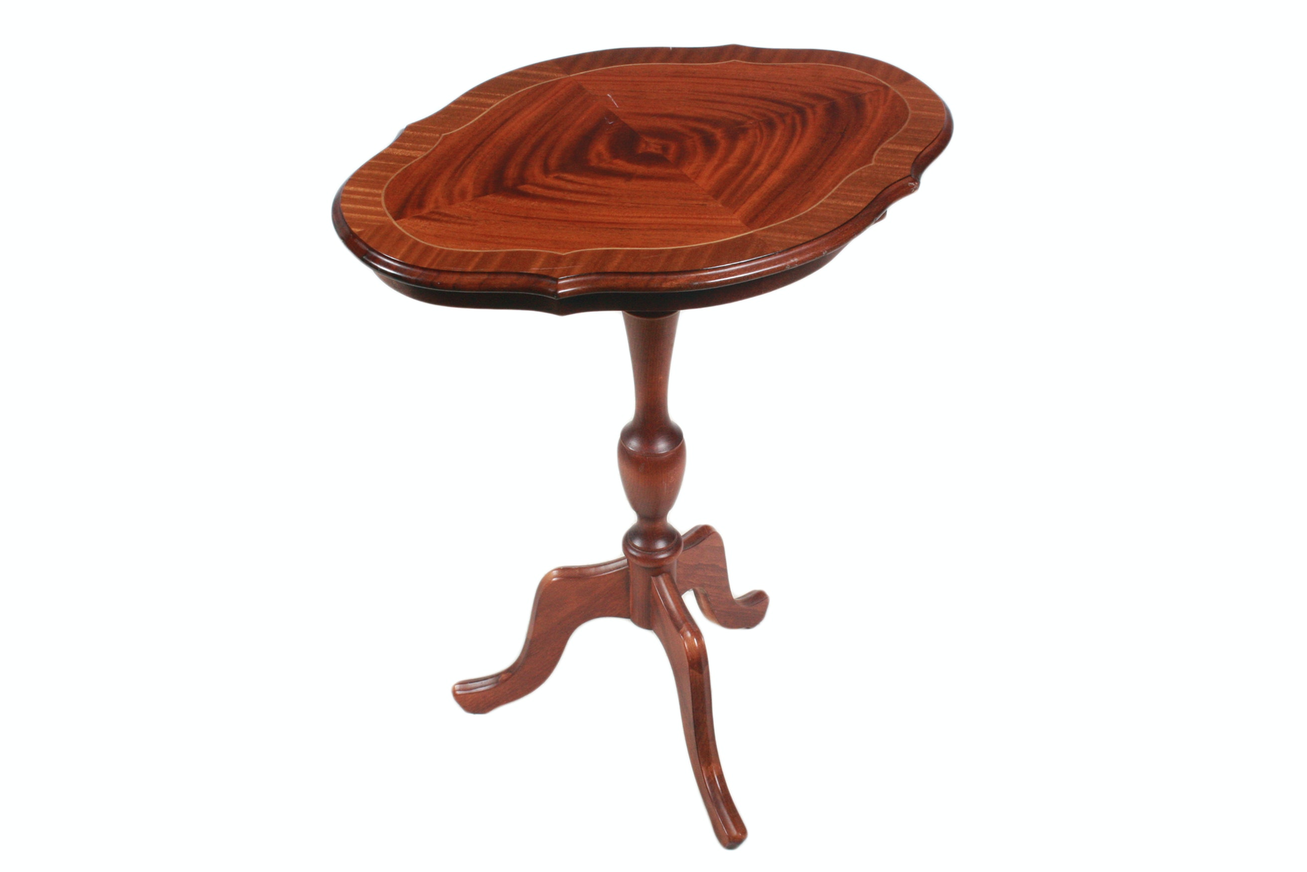 Vintage Mahogany Accent Table by Ryden Mobler