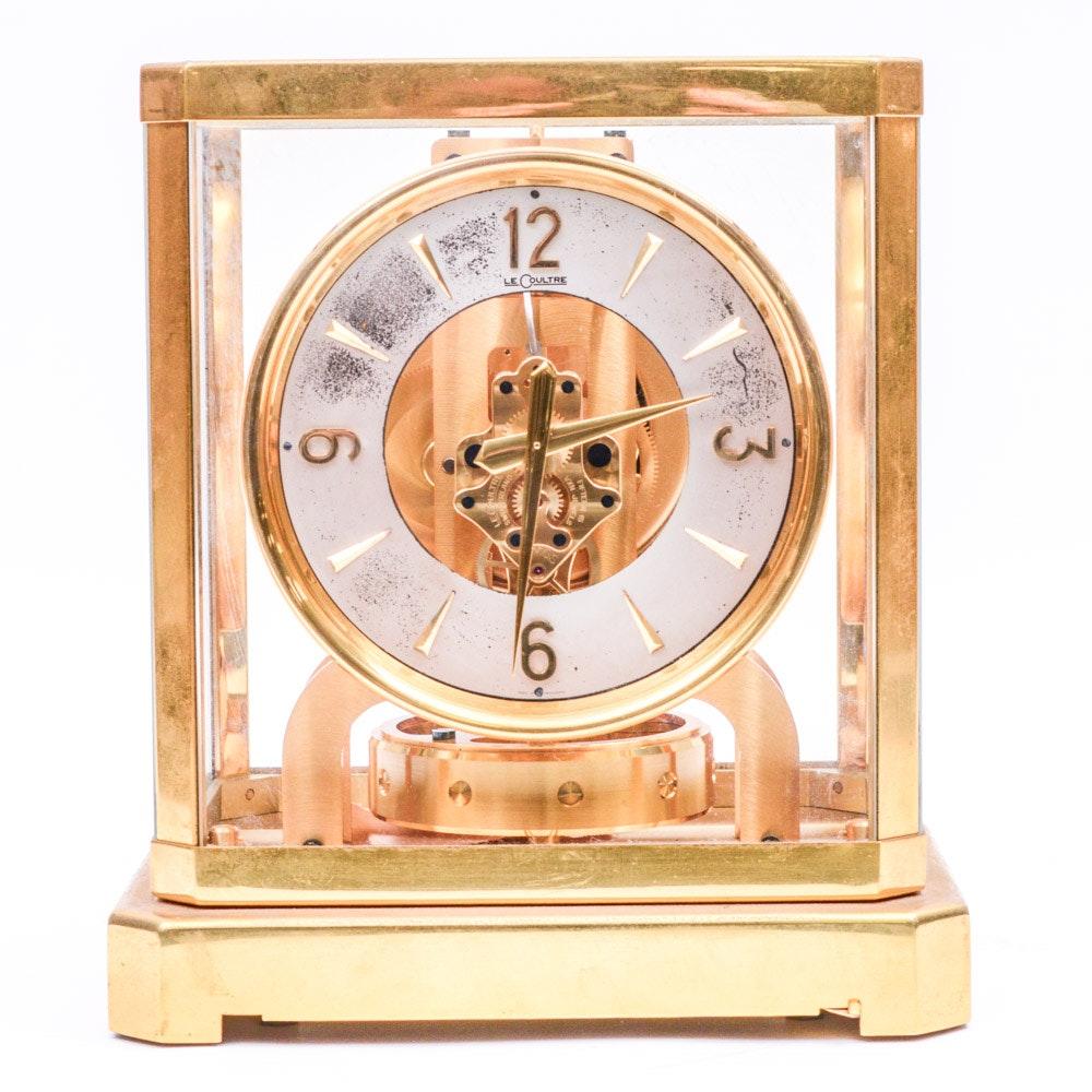 "Vintage LeCoultre ""Atmos"" Perpetual Motion Mantel Clock"