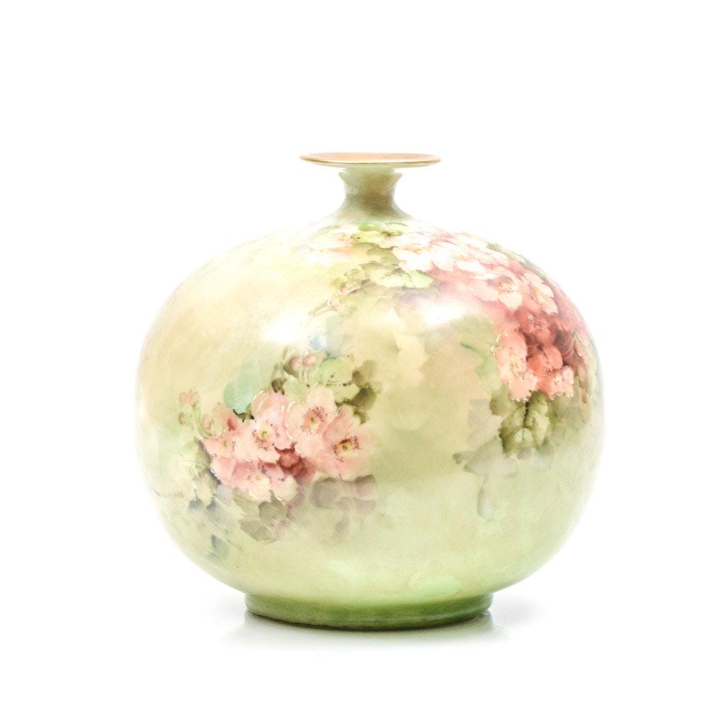Antique Belleek  Porcelain Vase