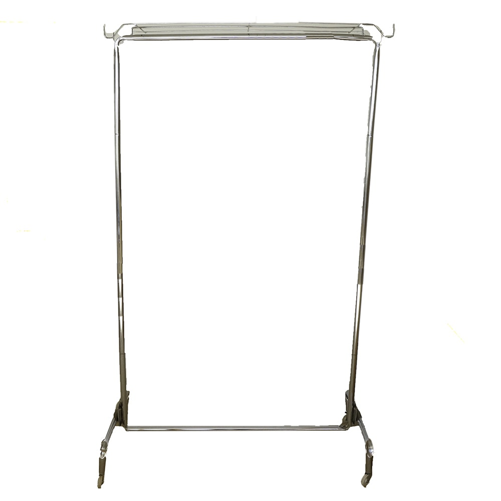 Metal Rolling Clothes Rack