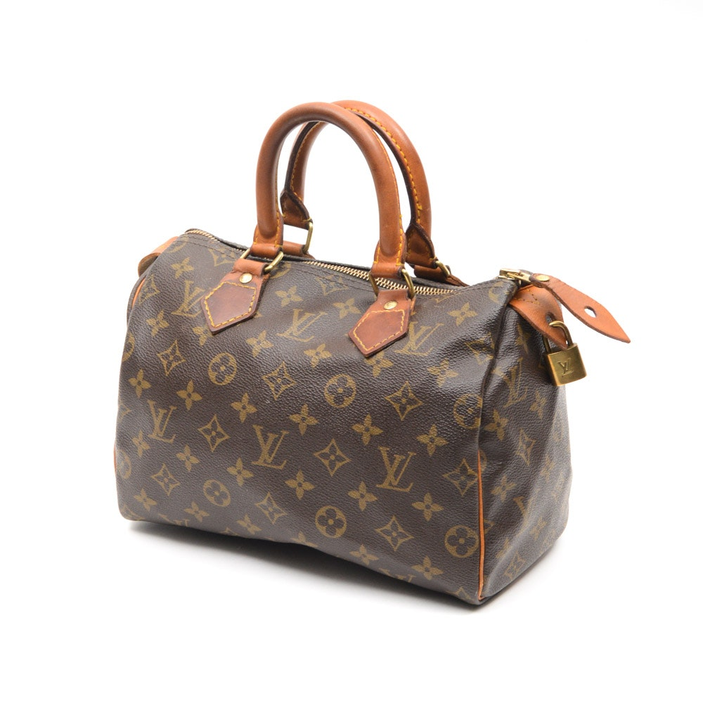 Vintage Louis Vuitton Monogram Speedy 25