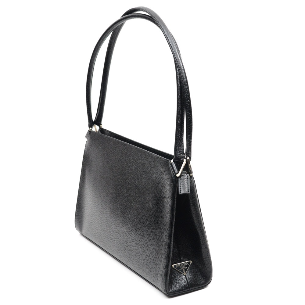 Prada Cinghiale Leather Handbag