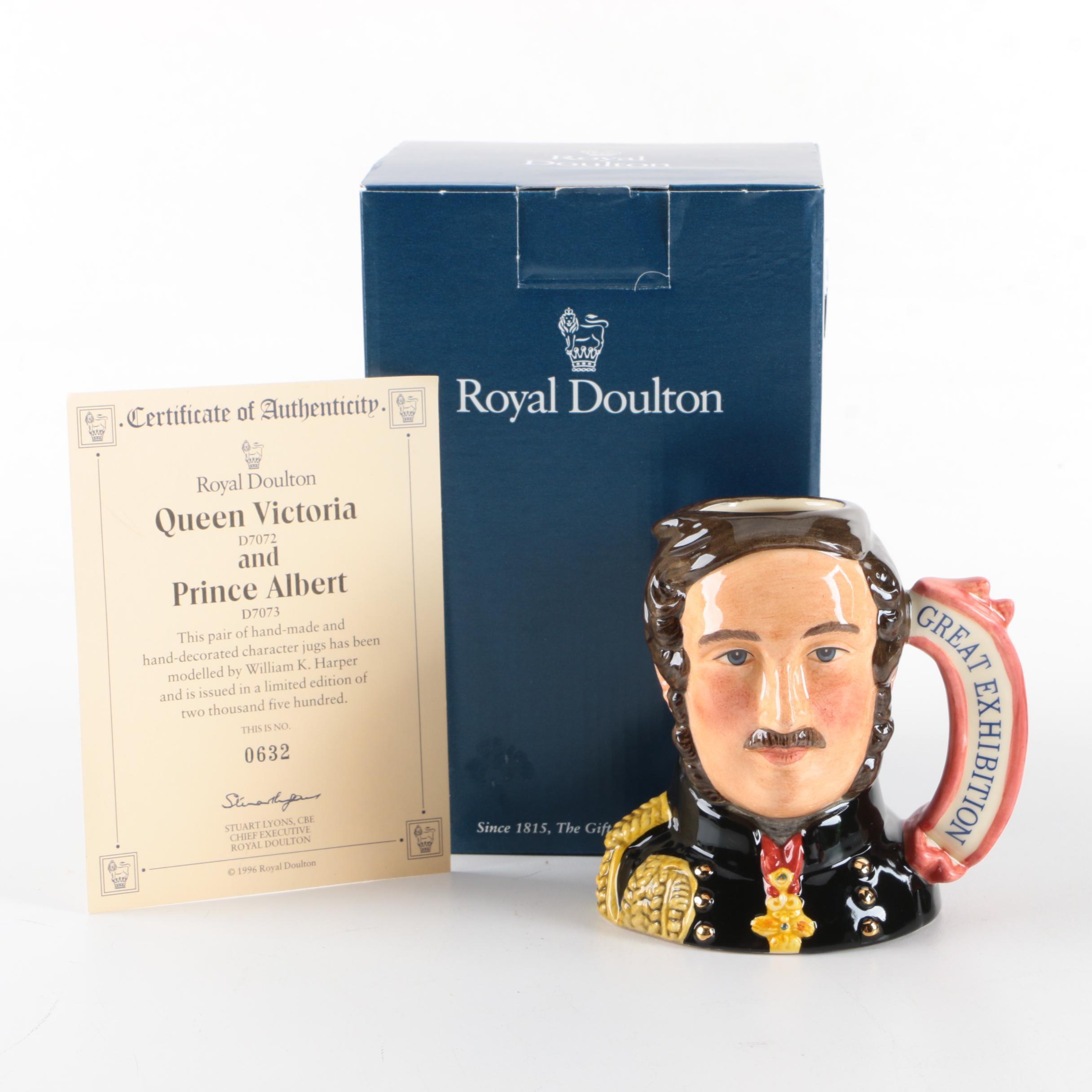 """Royal Doulton """"Prince Albert"""" Character Jug"""