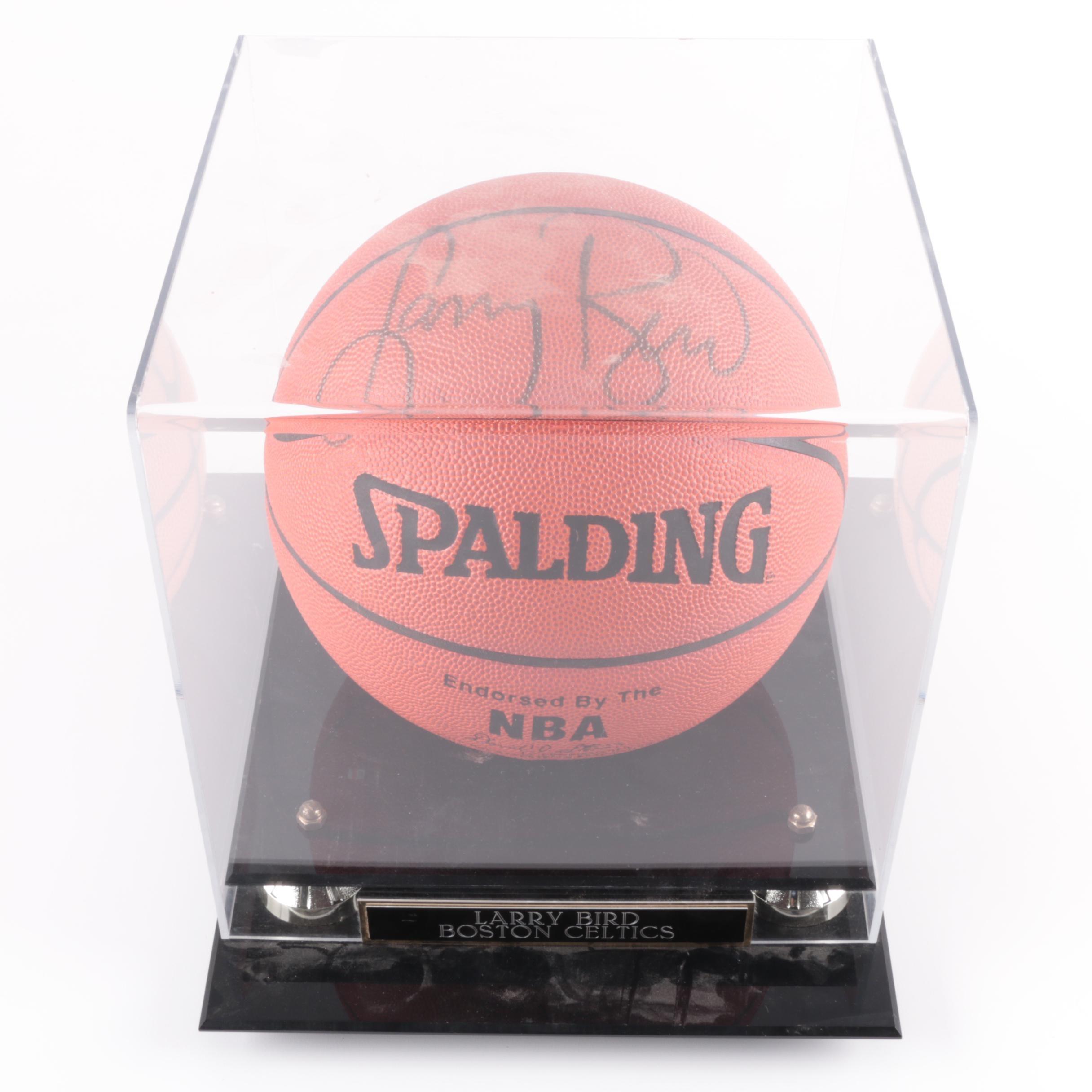 Larry Bird Autographed Basketball - JSA LOA