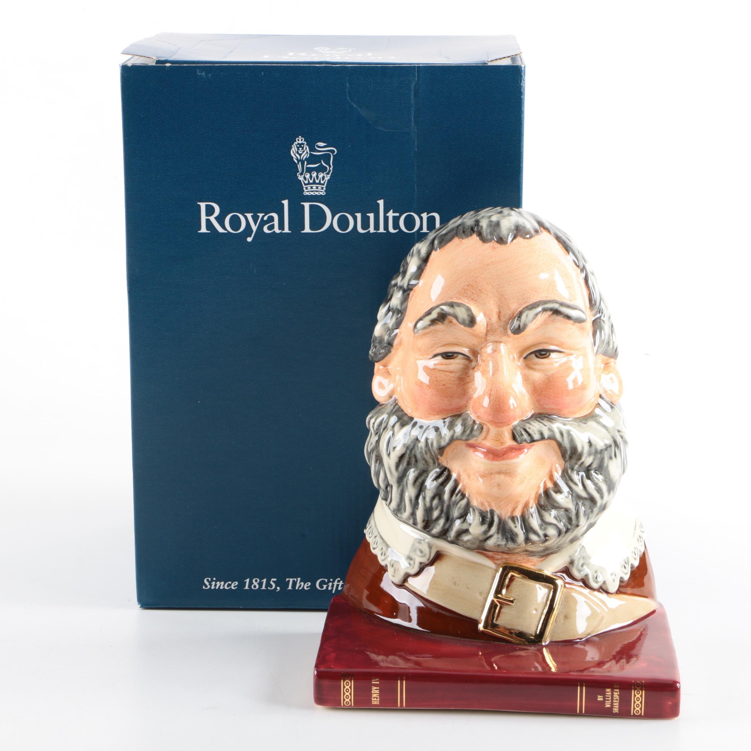 "Royal Doulton ""Falstaff"" Bookend"